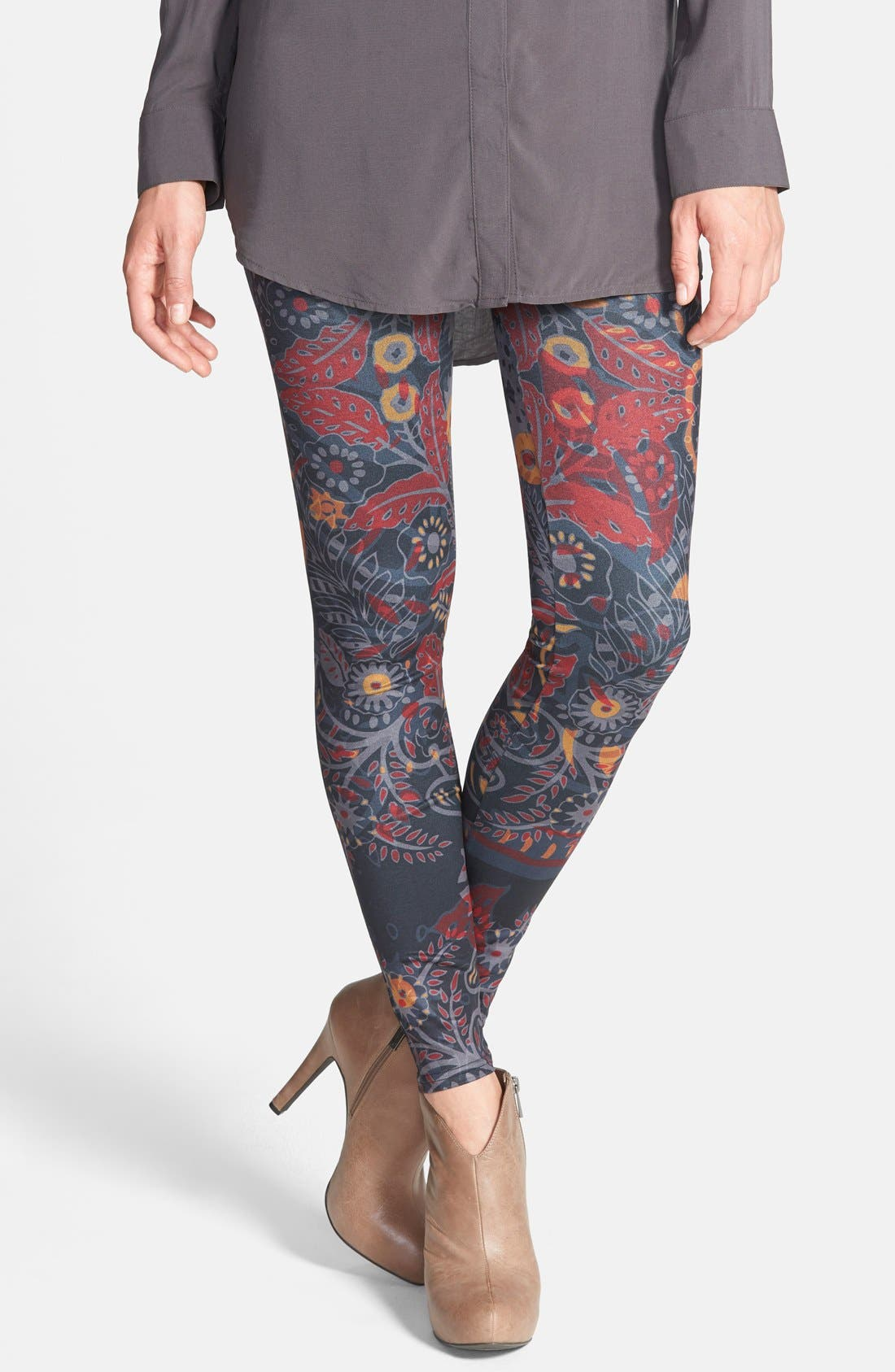 Main Image - Arthur George by R. Kardashian 'Fall Botanical' Leggings