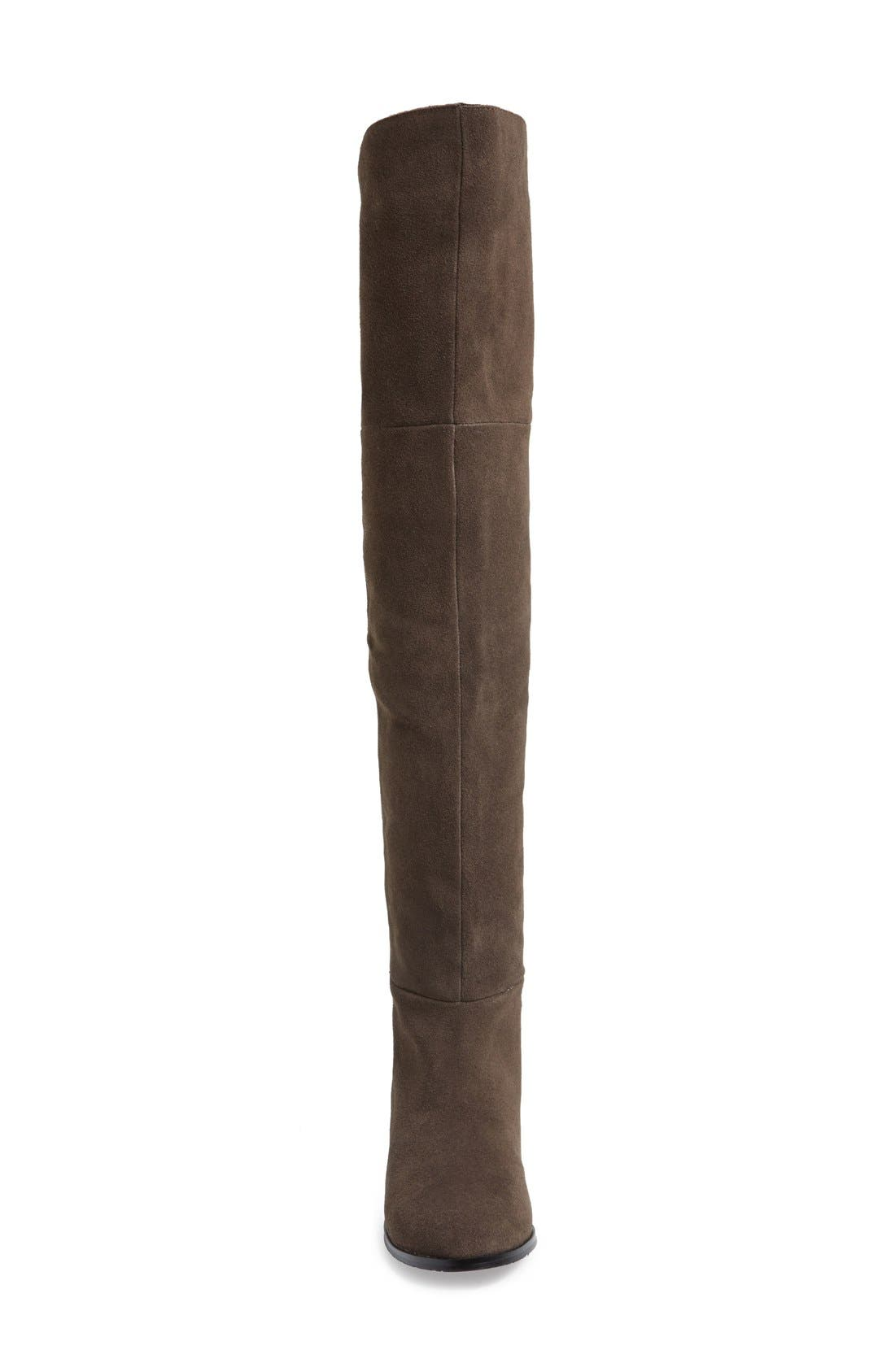 Alternate Image 3  - Chinese Laundry 'Riley' Stretch Back Suede Over The Knee Boot (Women)