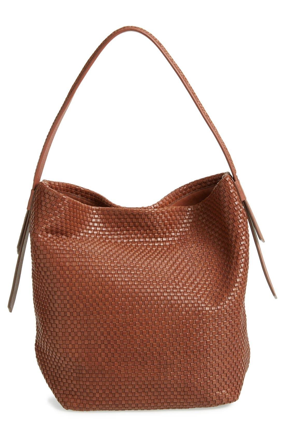 Alternate Image 4  - Cole Haan 'Bethany - Large' Woven Leather Hobo