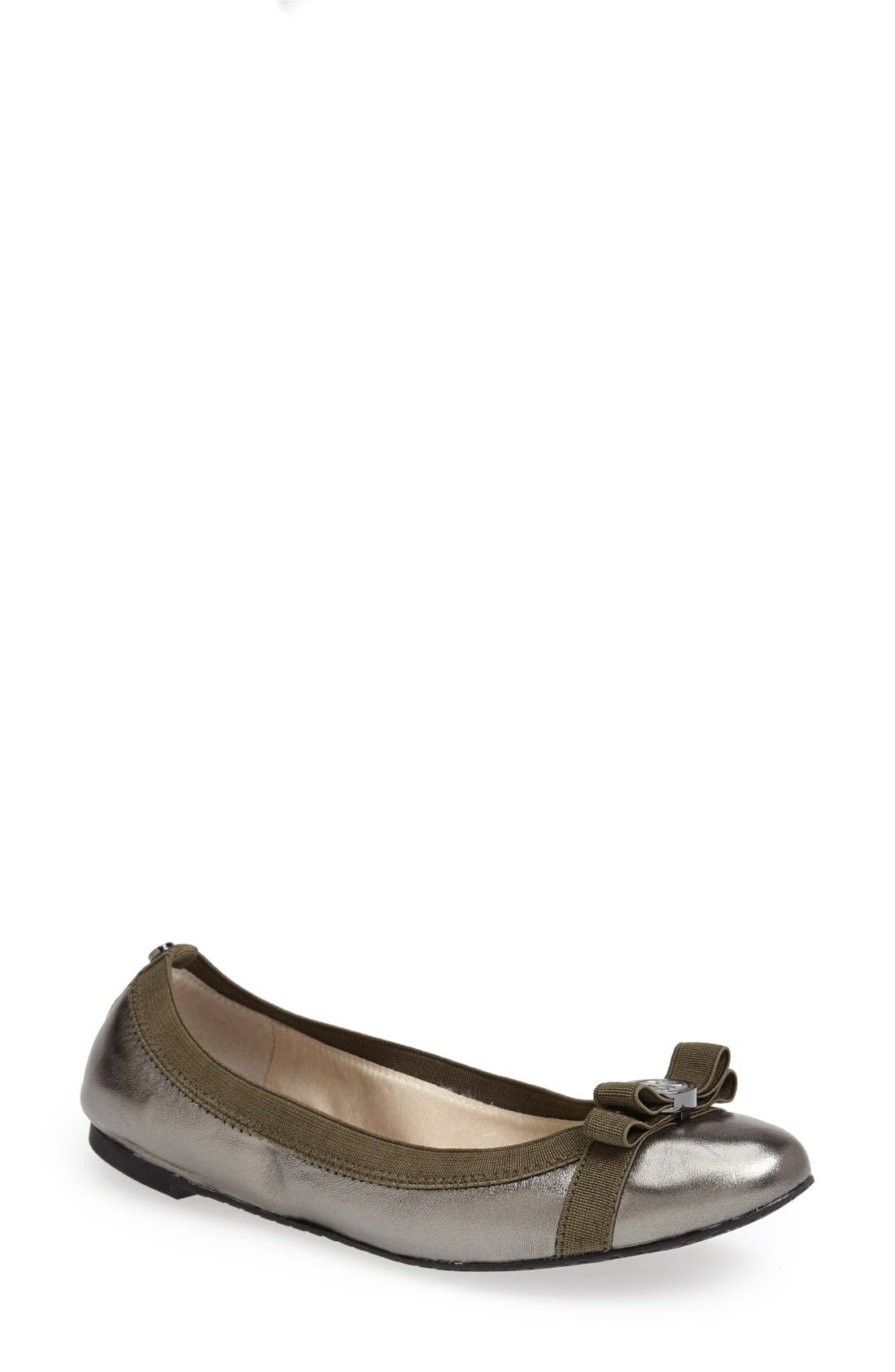Alternate Image 1 Selected - MICHAEL Michael Kors 'Dixie' Ballet Flat