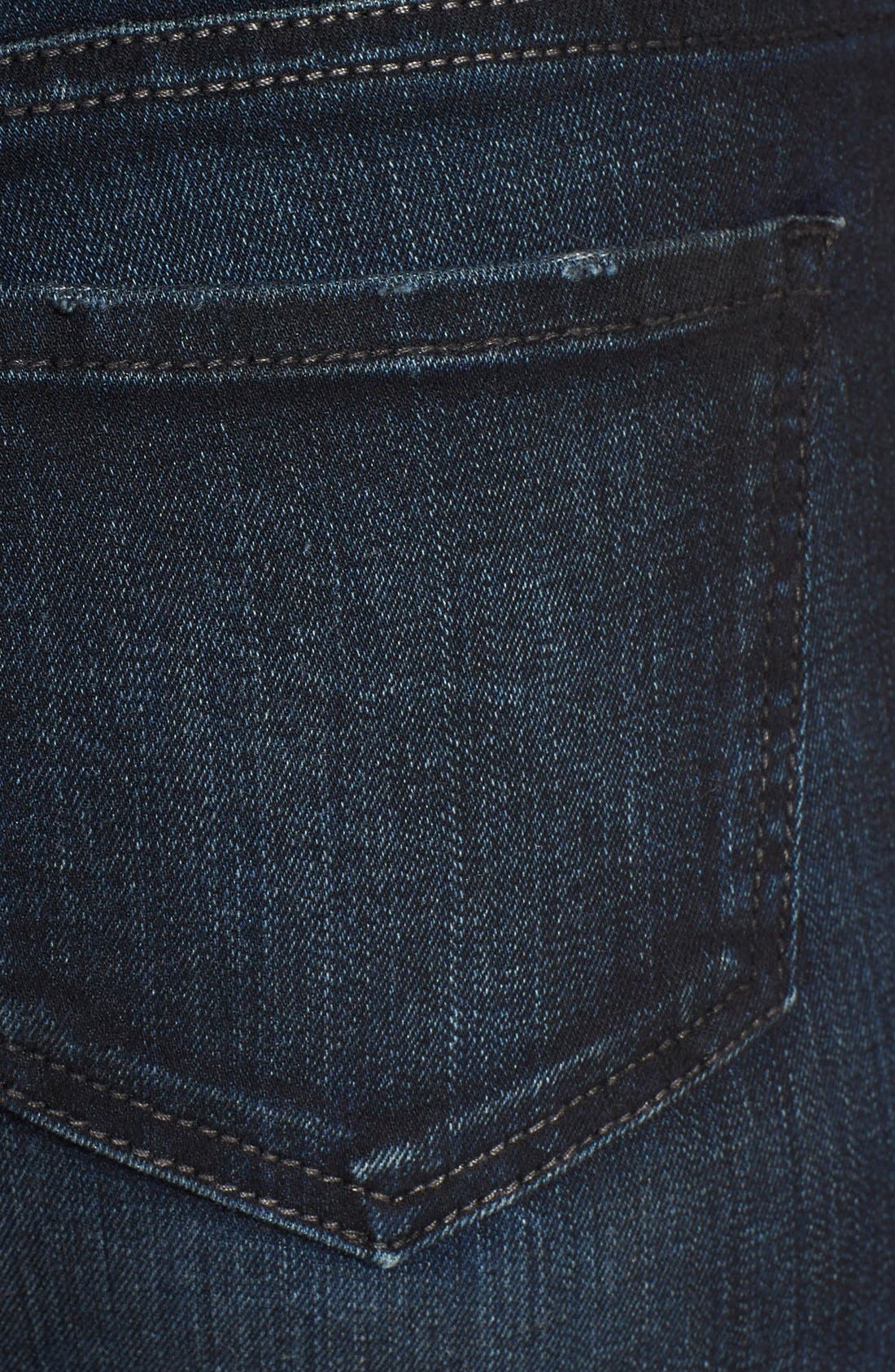 Alternate Image 3  - KUT from the Kloth 'Diana' Zip Detail Stretch Skinny Jeans (Privileged)