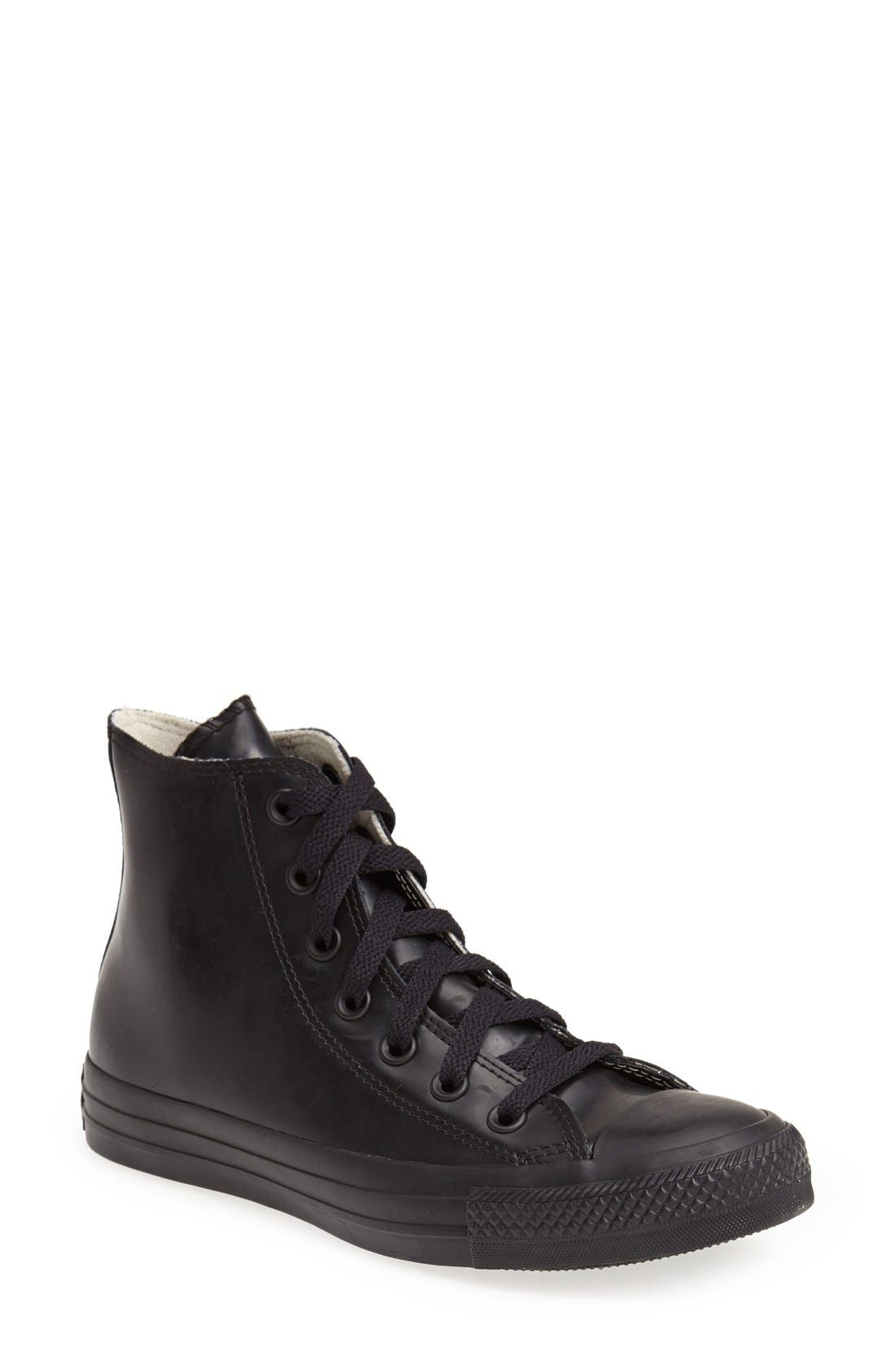Alternate Image 1 Selected - Chuck Taylor® All Star® Waterproof Rubber Rain Sneaker (Women)