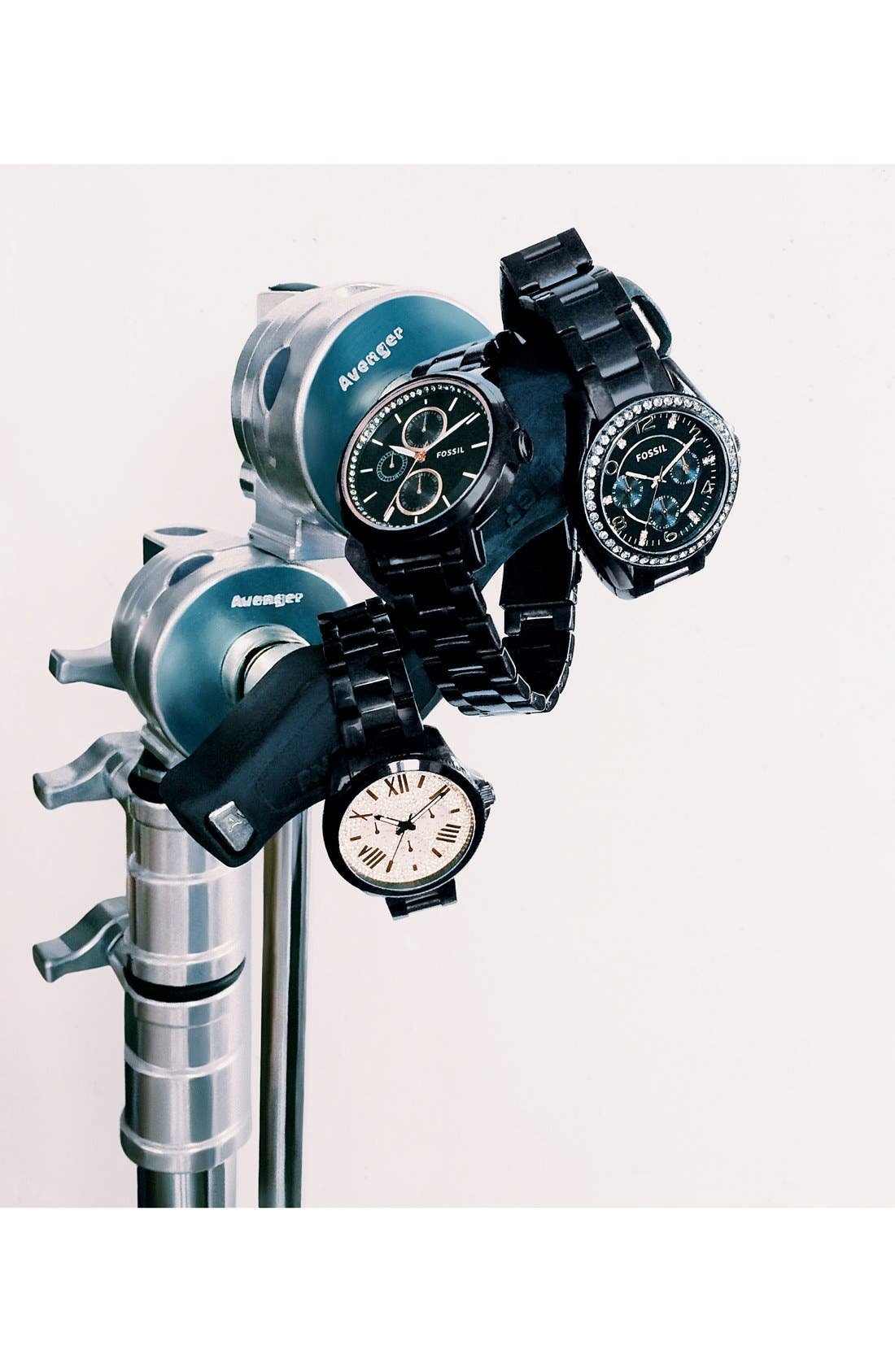 Alternate Image 4  - Fossil 'Chelsey' Multifunction Bracelet Watch, 39mm