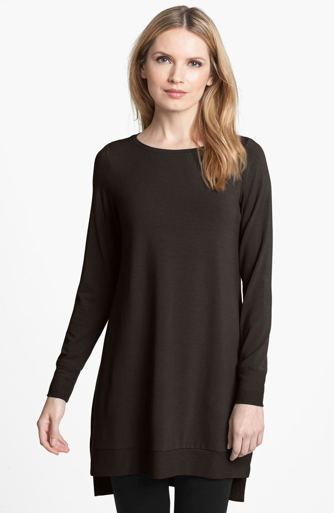 Alternate Image 1 Selected - Eileen Fisher Jersey Layering Tunic