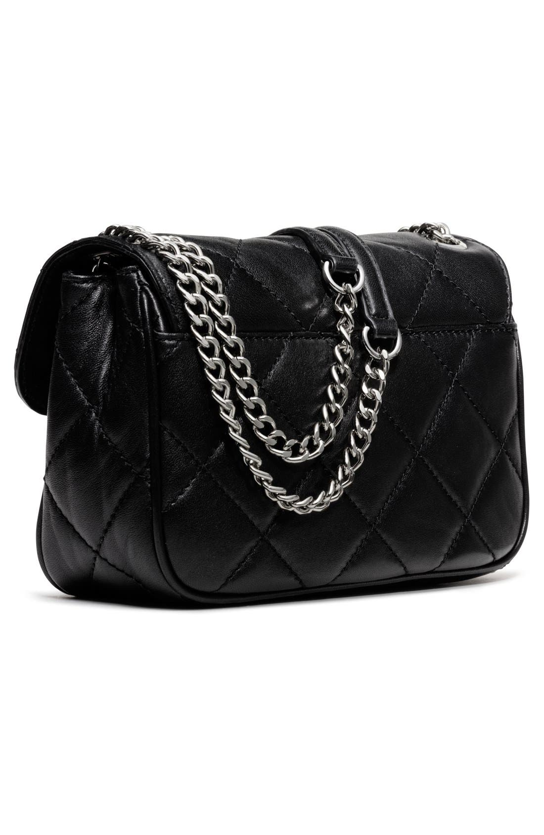 Alternate Image 3  - MICHAEL Michael Kors 'Small Sloan' Quilted Leather Shoulder Bag
