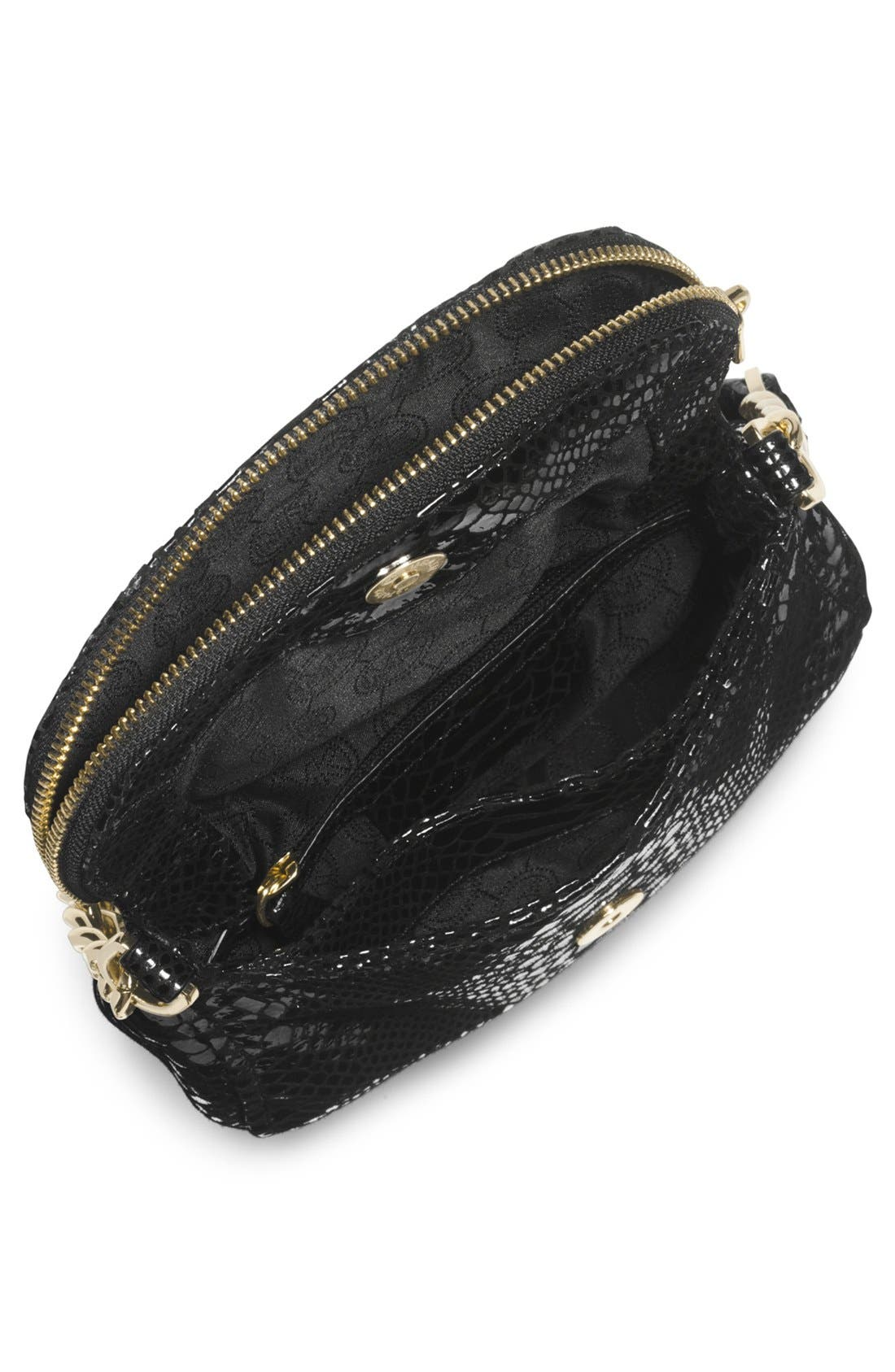 Alternate Image 2  - MICHAEL Michael Kors 'Bedford' Python Embossed Leather Crossbody Bag