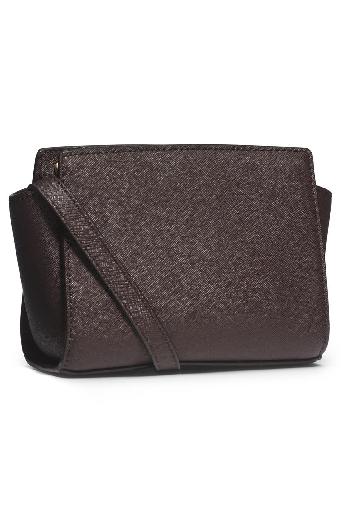 Alternate Image 3  - MICHAEL Michael Kors 'Mini Selma' Calf Hair & Leather Messenger Bag