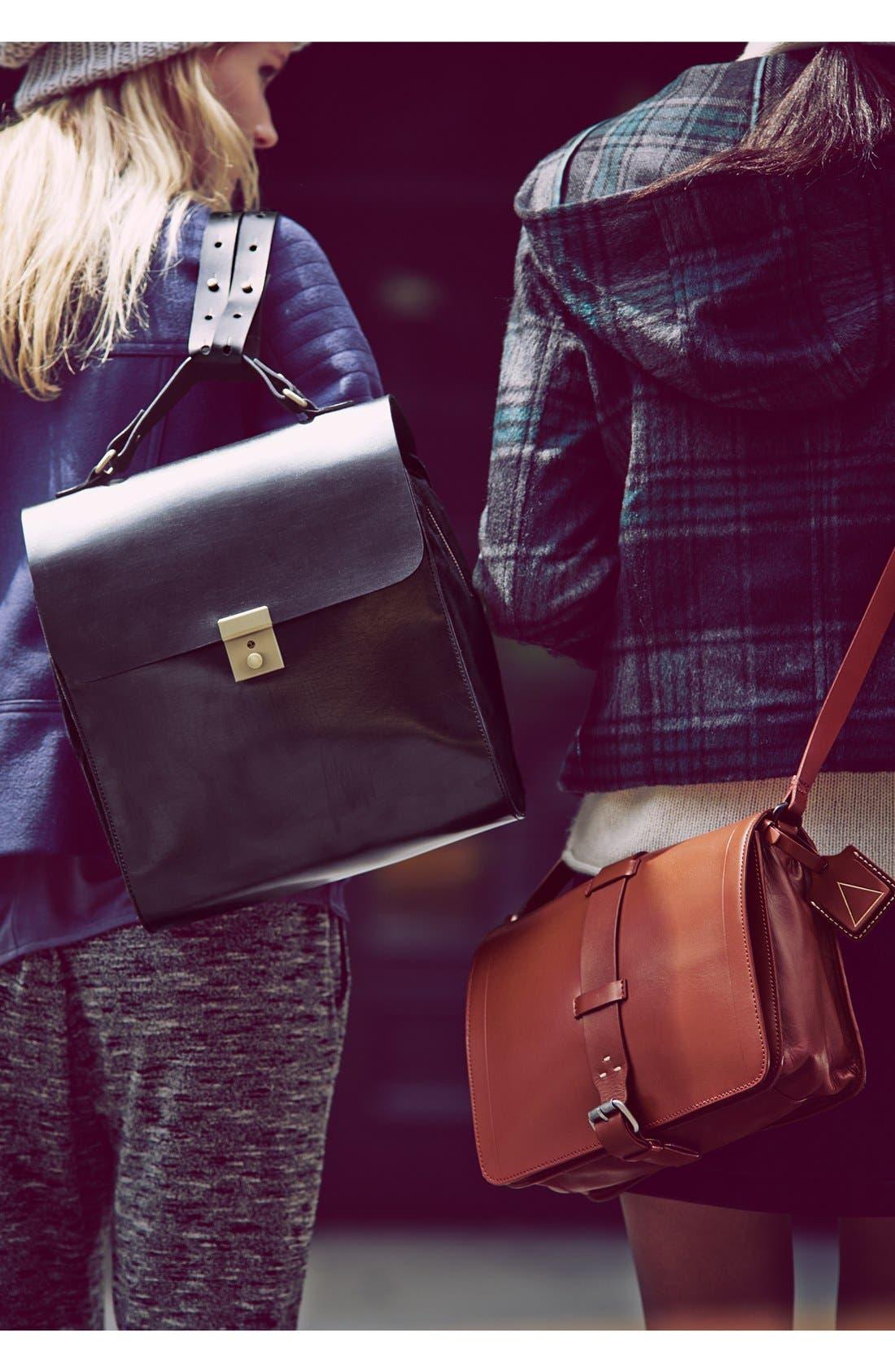 Alternate Image 5  - Kelsi Dagger Brooklyn 'Courier' Leather Crossbody Bag