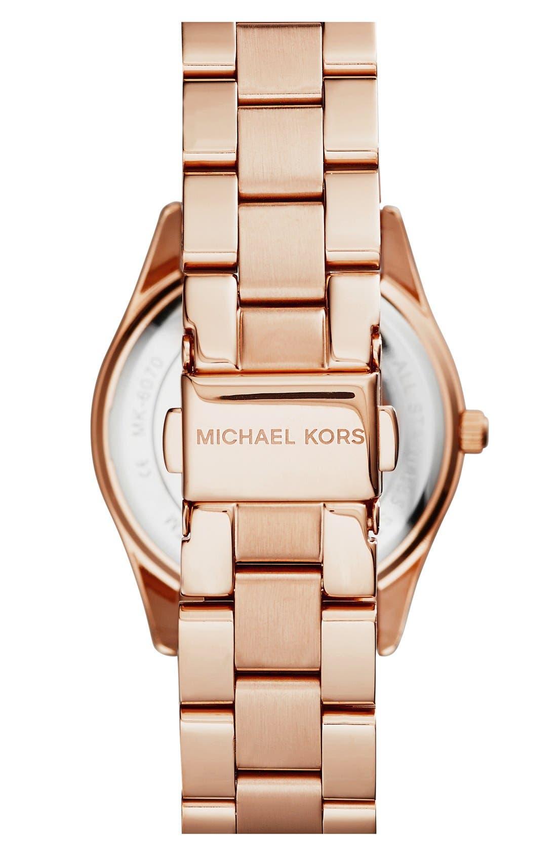 Alternate Image 2  - Michael Kors 'Colette' Round Bracelet Watch, 34mm