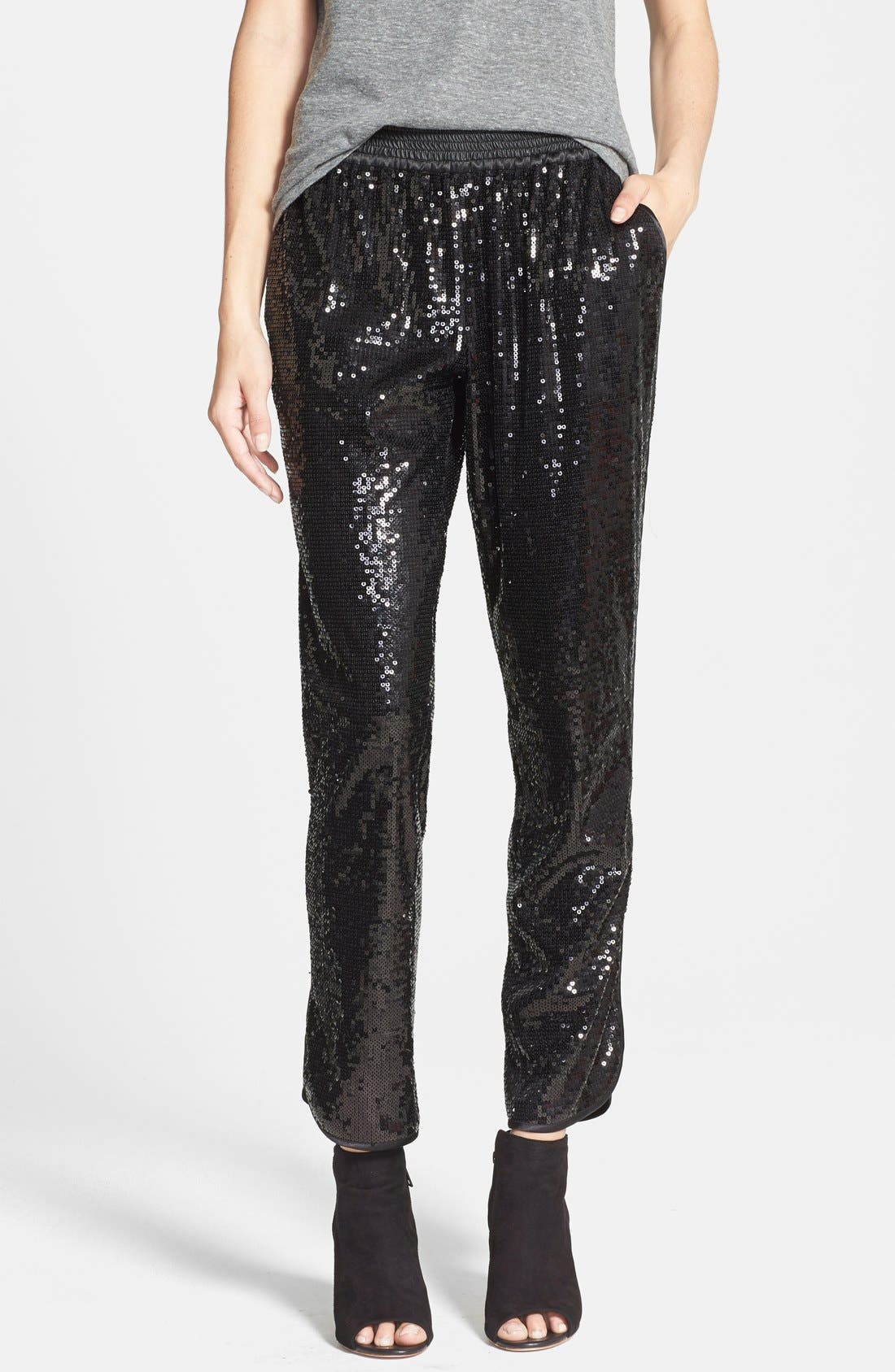 Alternate Image 1 Selected - Sam Edelman Sequin Pants