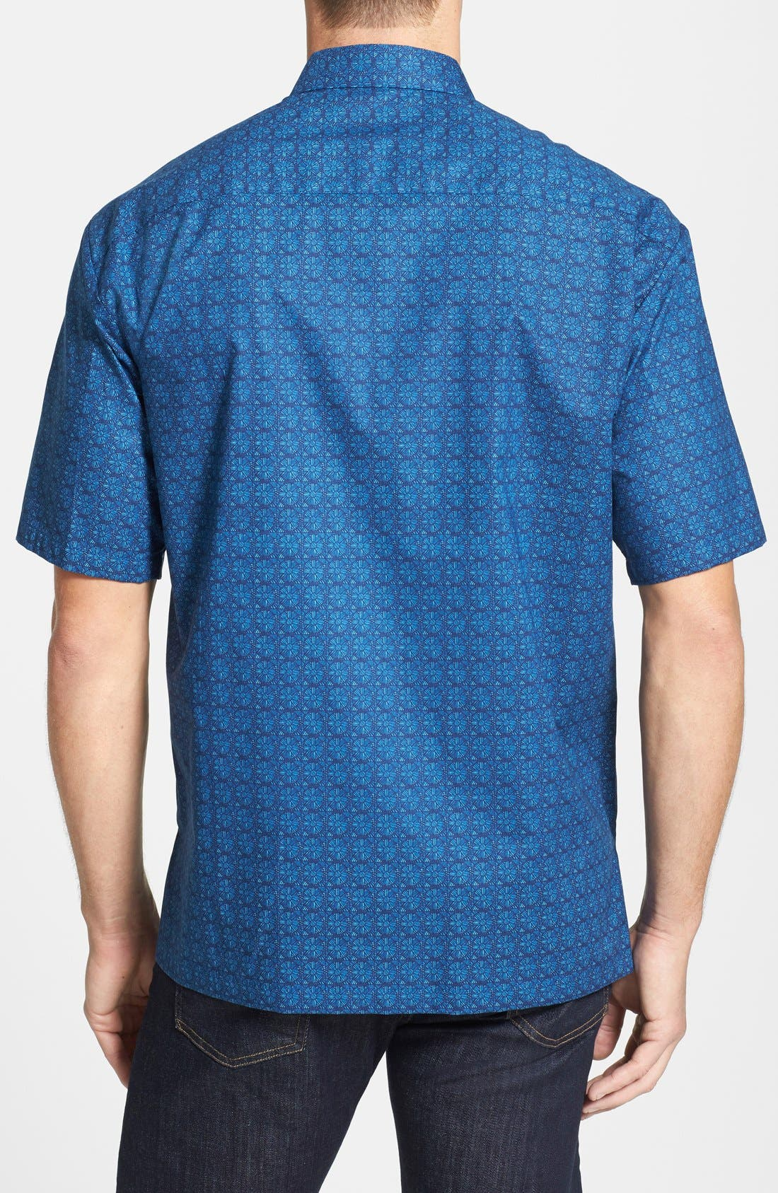 Alternate Image 2  - Tori Richard 'Eyeris' Regular Fit Short Sleeve Cotton Lawn Sport Shirt