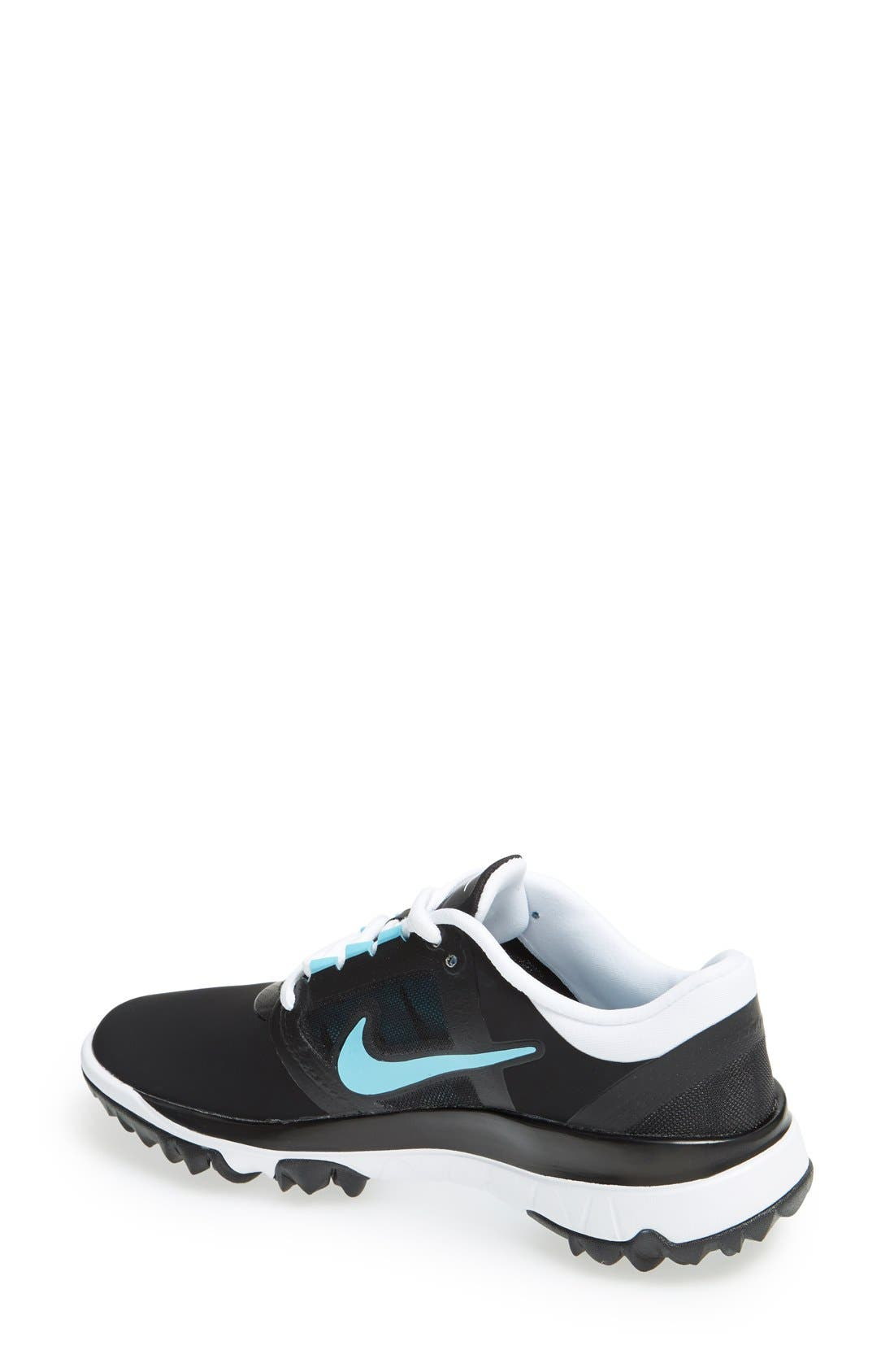 Alternate Image 2  - Nike 'Fi Impact' Waterproof Golf Shoe (Women)