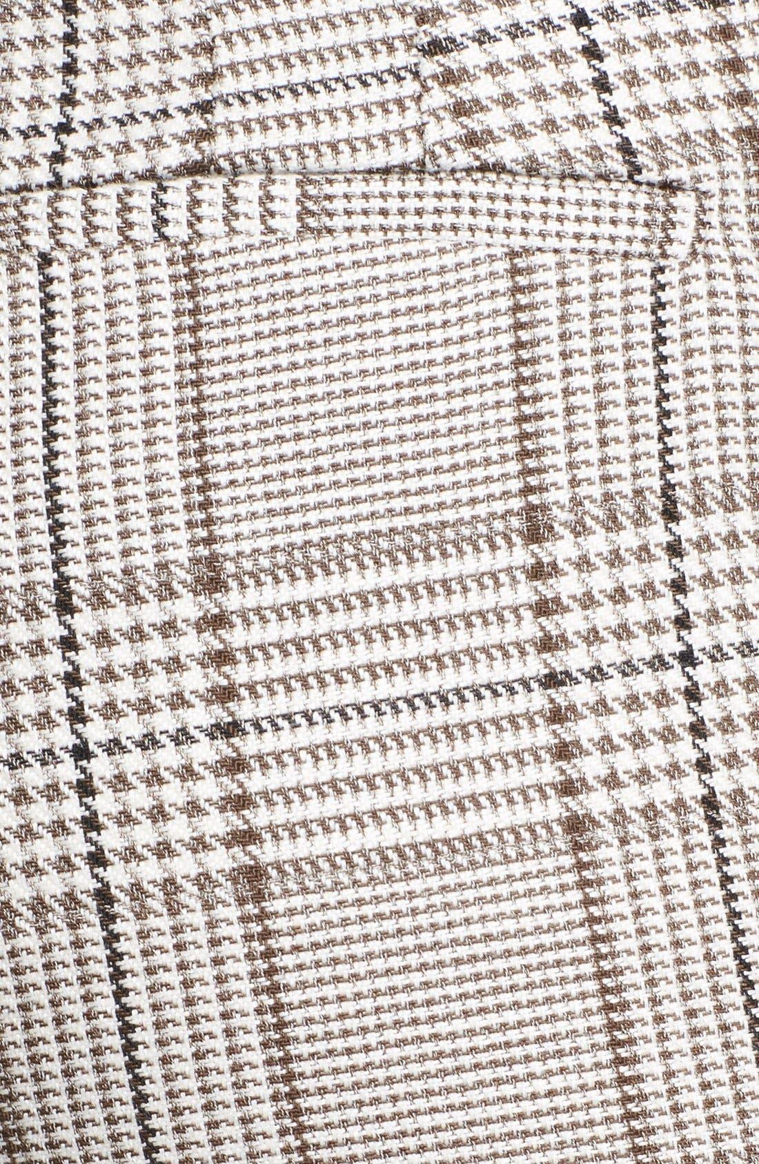Alternate Image 3  - Armani Collezioni Prince of Wales Cuffed Trousers