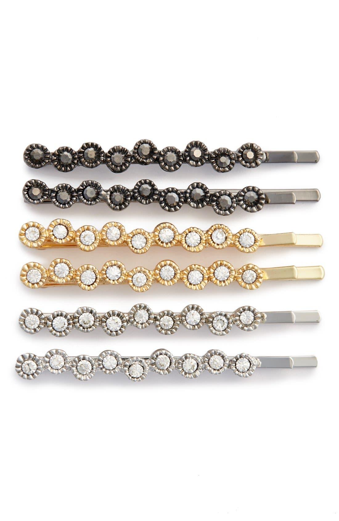 Main Image - Tasha 'Sparkle' Bobby Pins (6-Pack)
