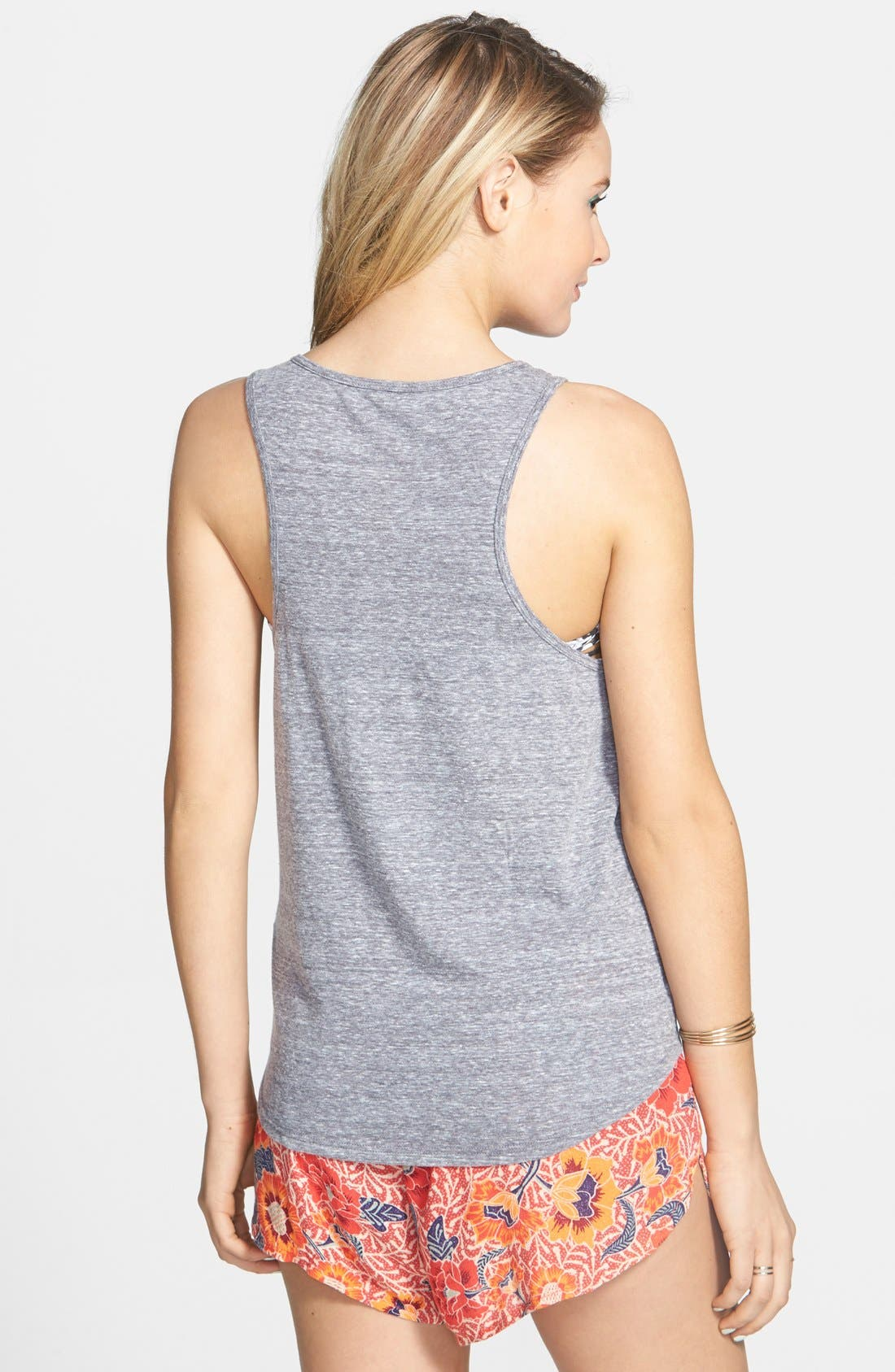 Alternate Image 2  - Billabong 'Days Away' Graphic High/Low Tank