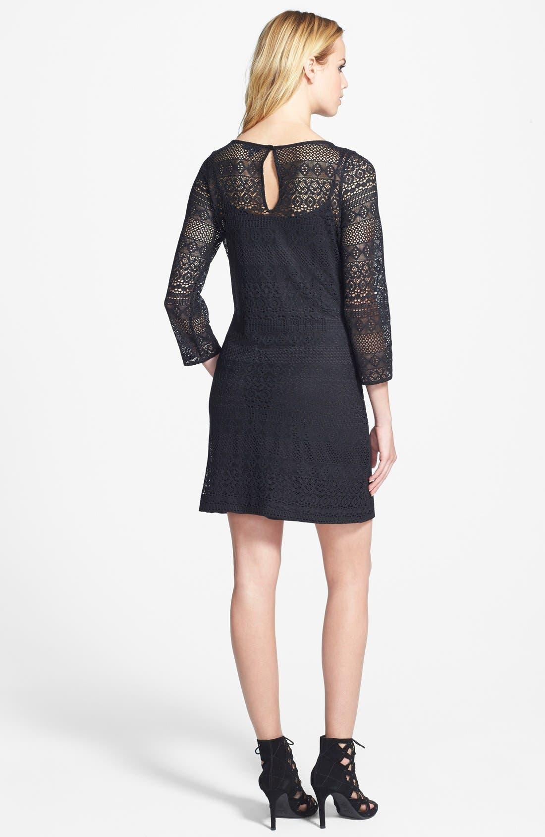 Alternate Image 2  - Tildon Lace Shift Dress