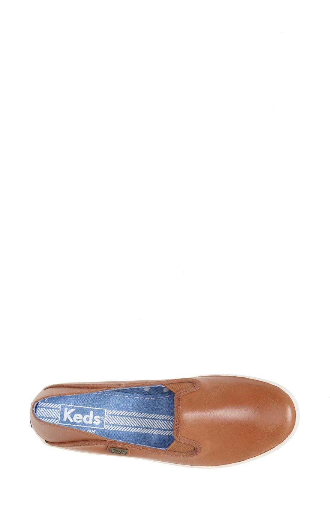 Alternate Image 3  - Keds® 'Crashback' Leather Slip-On (Women)