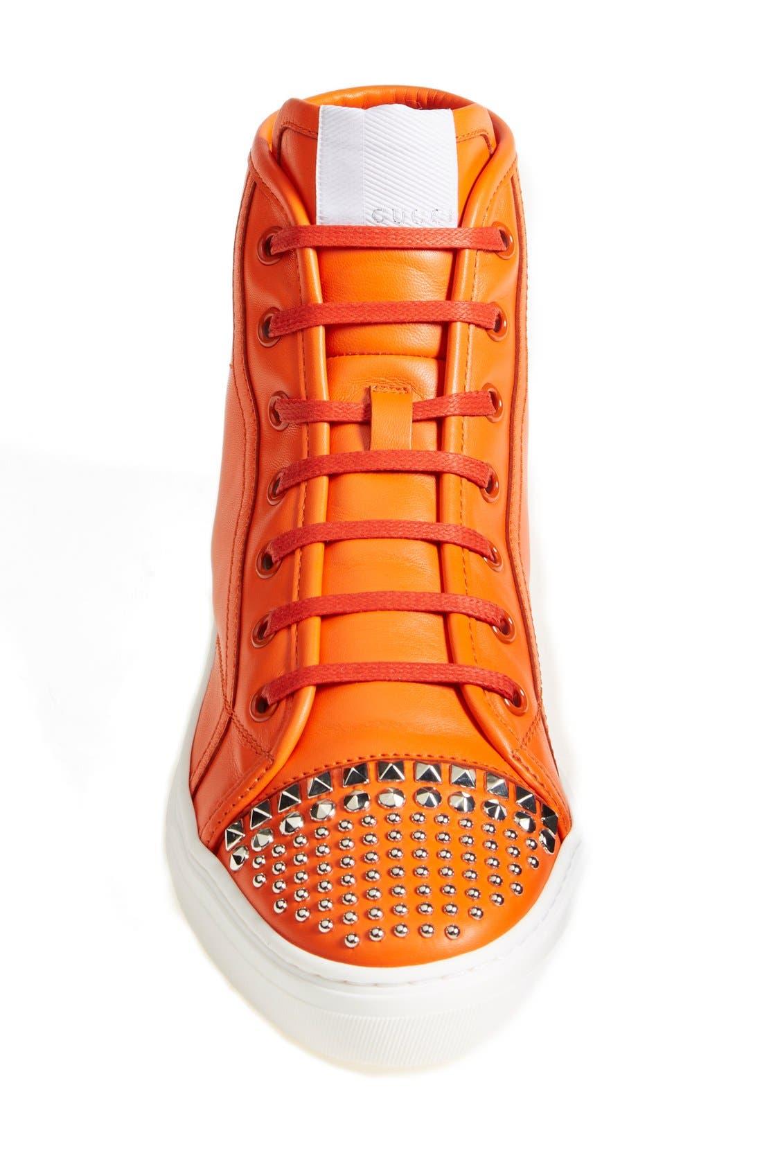 Alternate Image 3  - Gucci 'California' Studded Sneaker (Women)
