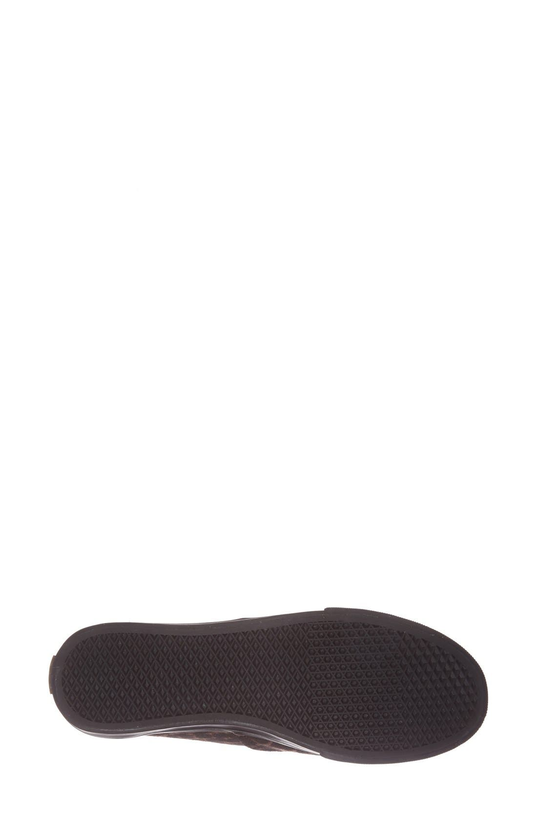 Alternate Image 4  - Vans 'Authentic - Lo Pro' Leopard Print Sneaker (Women)