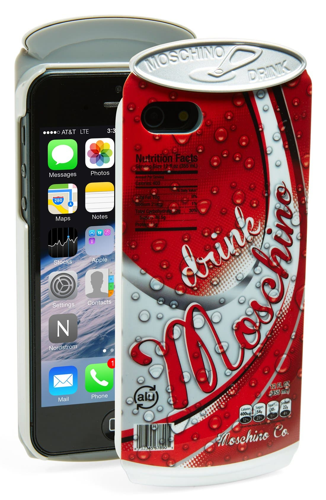 Alternate Image 1 Selected - Moschino Soda Can iPhone 5 & 5s Case