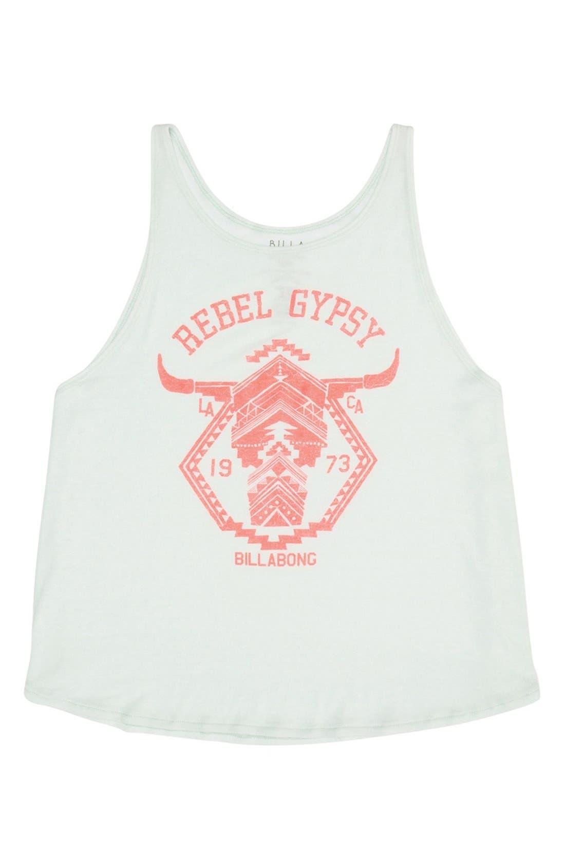 Main Image - Billabong 'Rebel Gypsy' Graphic Swing Tank