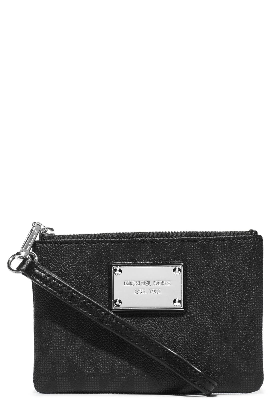 Alternate Image 1 Selected - MICHAEL Michael Kors 'Small Jet Set' Wristlet
