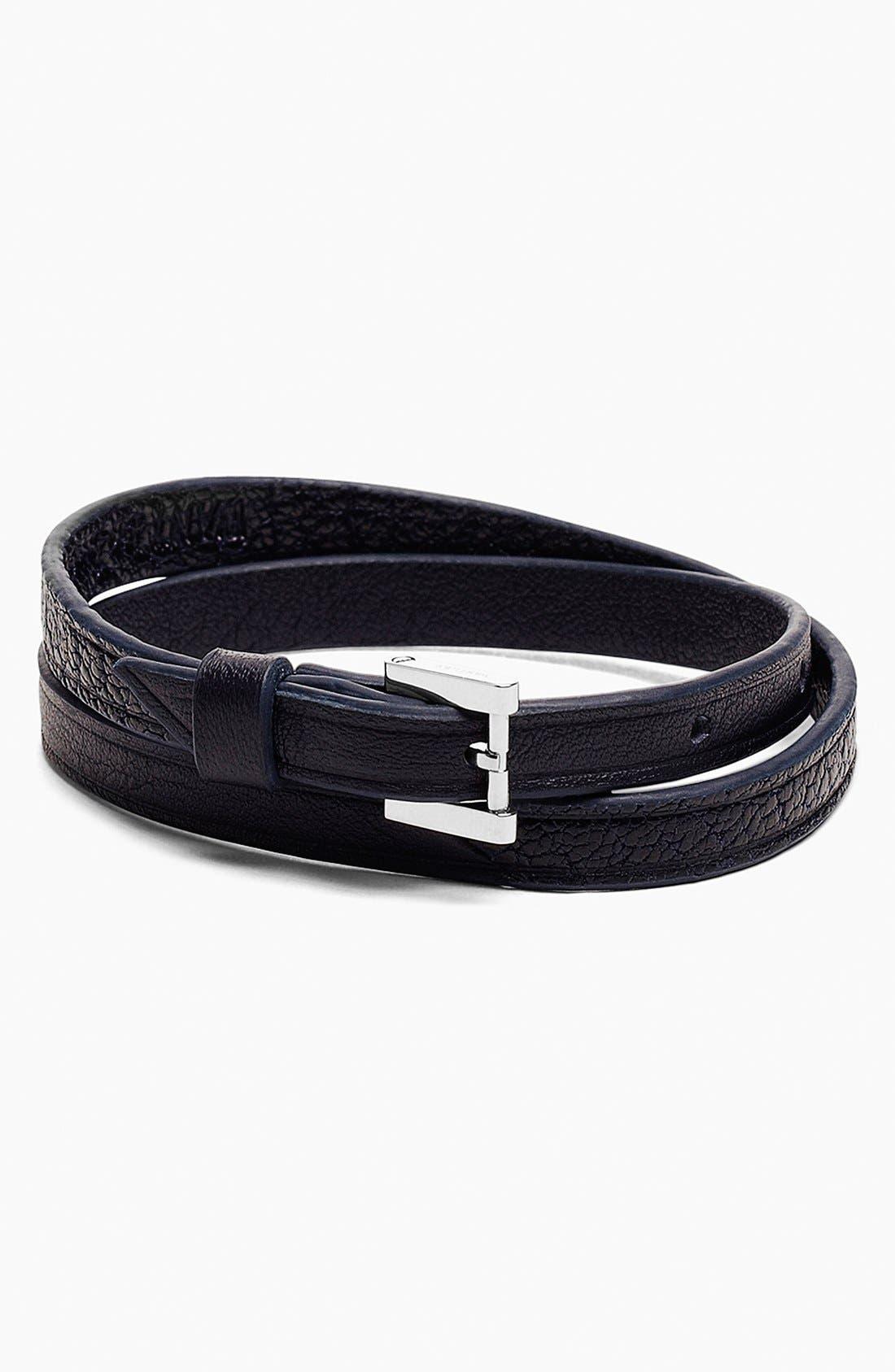 Alternate Image 1 Selected - WANT Les Essentiels de la Vie 'Vantaa' Two-Tone Buckle Bracelet