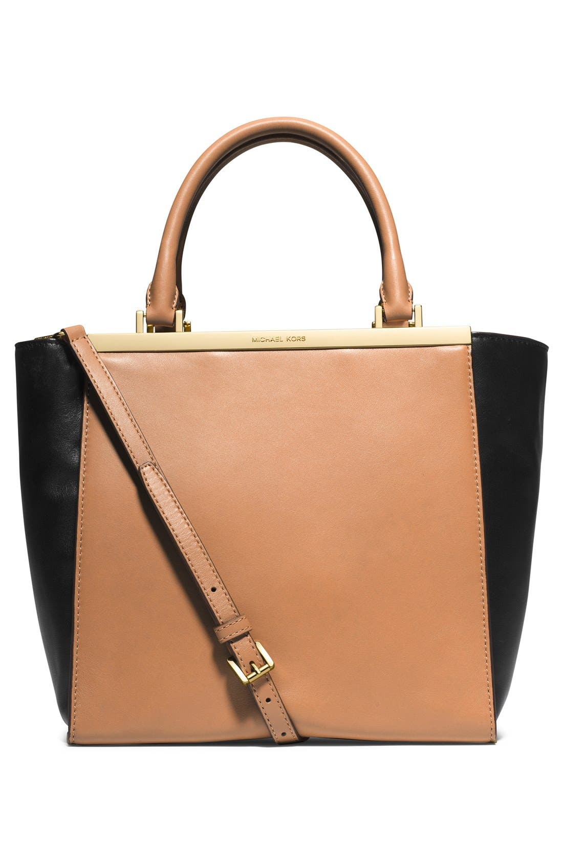 Alternate Image 3  - MICHAEL Michael Kors 'Lana Medium' Leather Tote