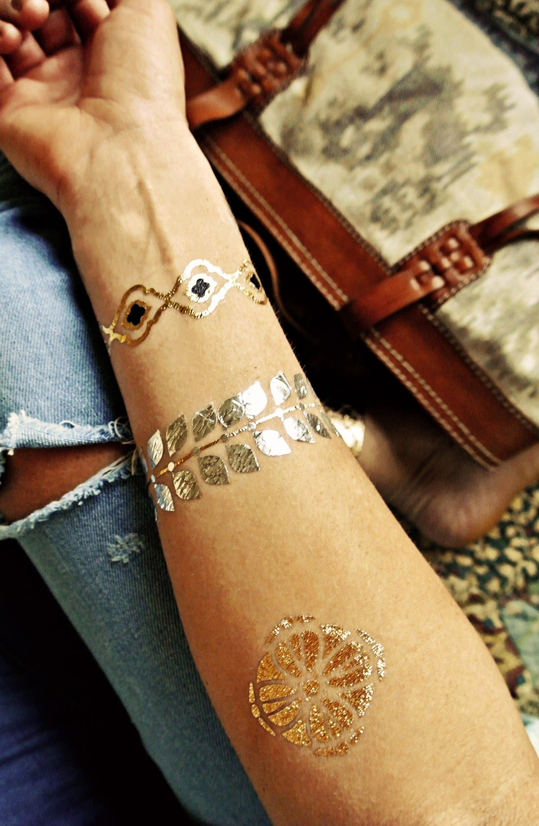 Alternate Image 5  - Flash Tattoos 'Sofia' Temporary Tattoos