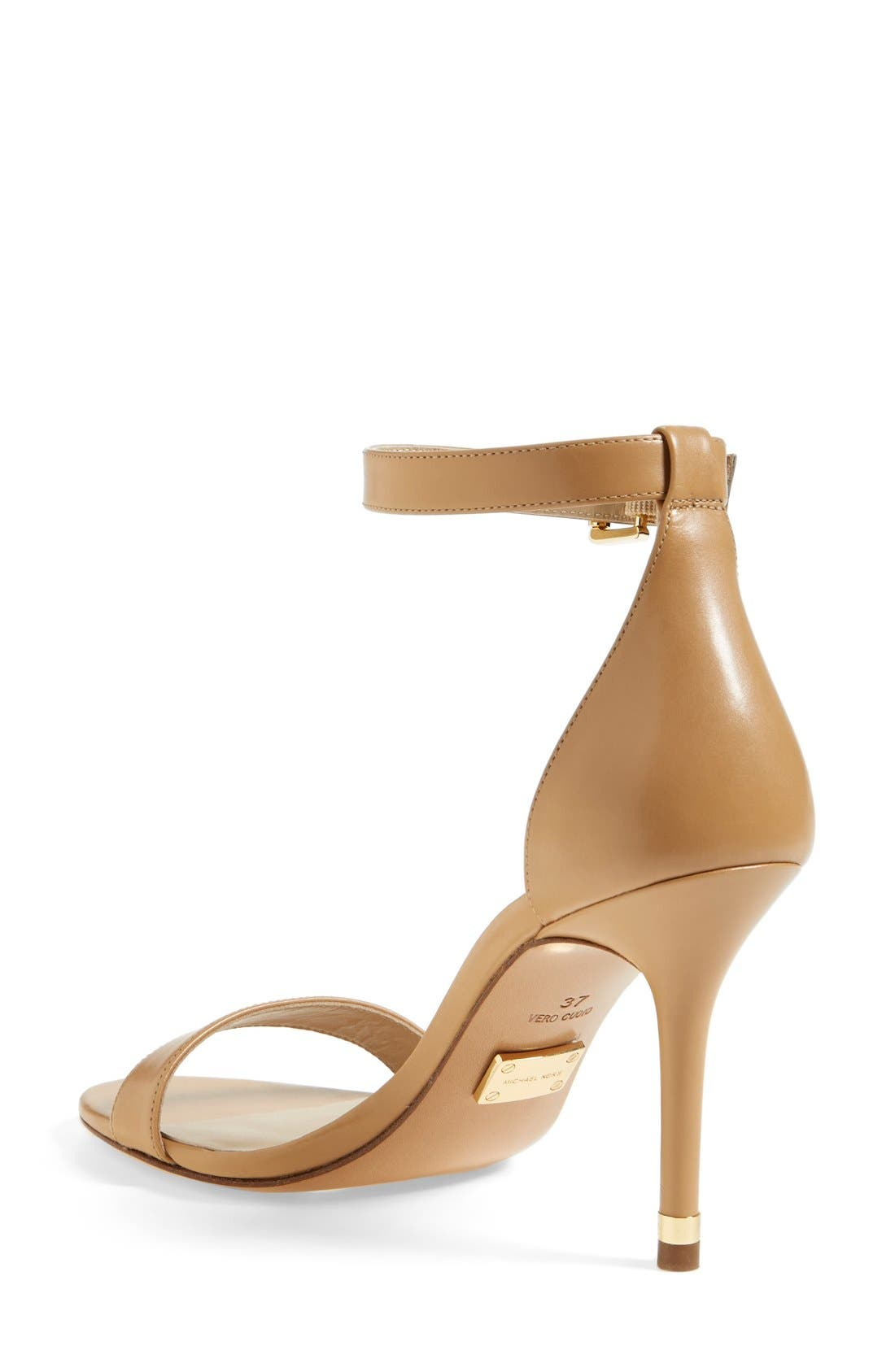Alternate Image 2  - KORS Michael Kors 'Suri' Leather Sandal (Women)