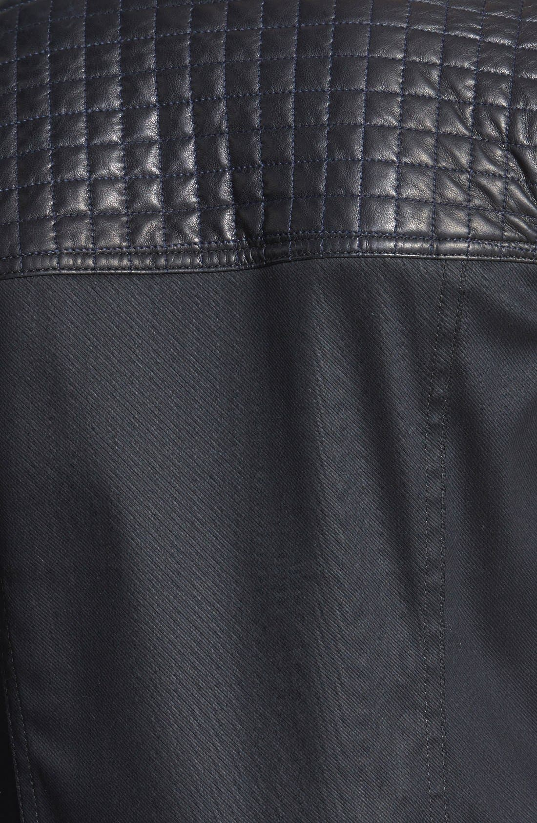 Alternate Image 3  - 7 For All Mankind® Quilted Denim Jacket