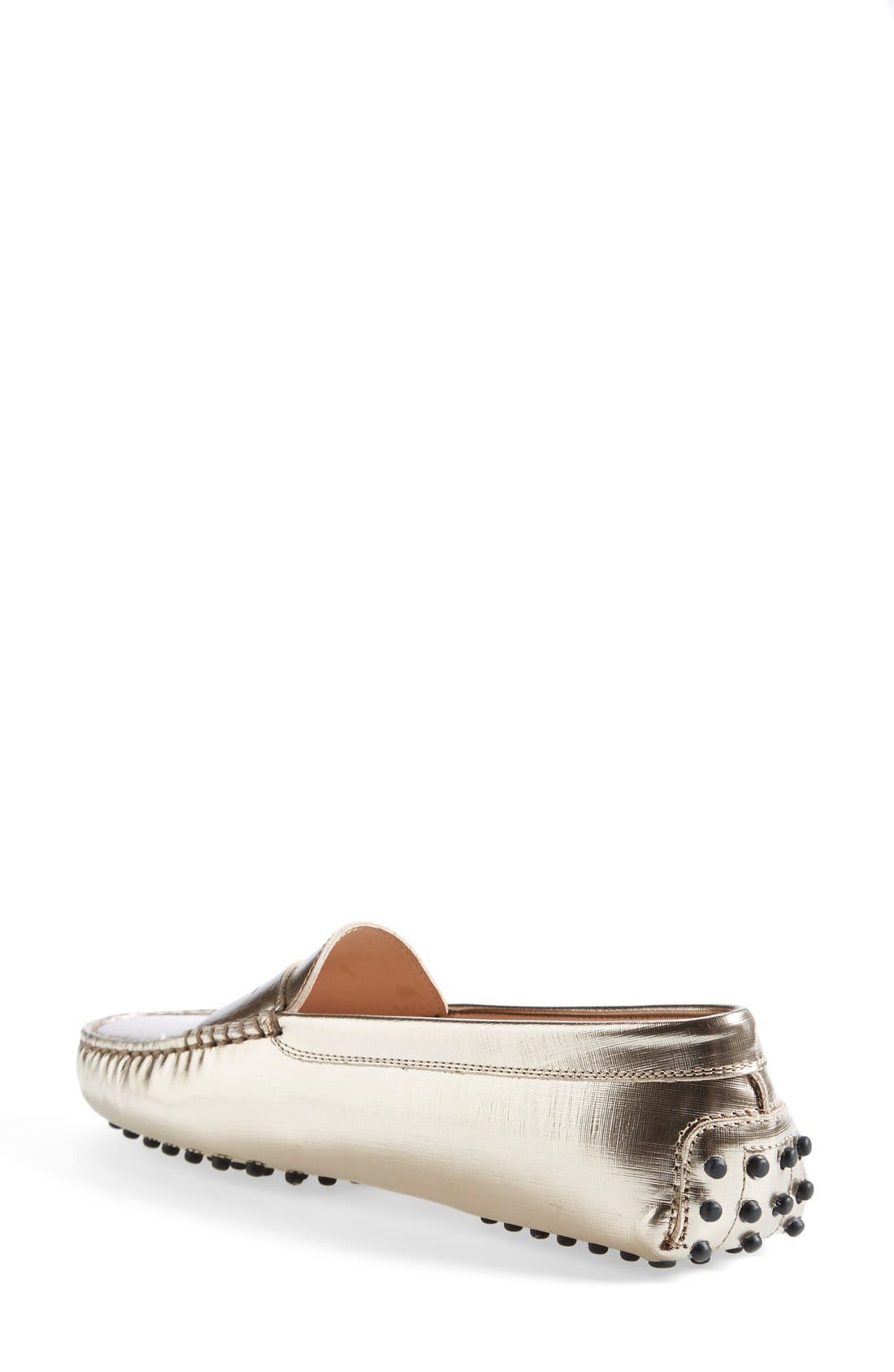 Alternate Image 2  - Tod's 'Gommini' Metallic Leather Penny Loafer