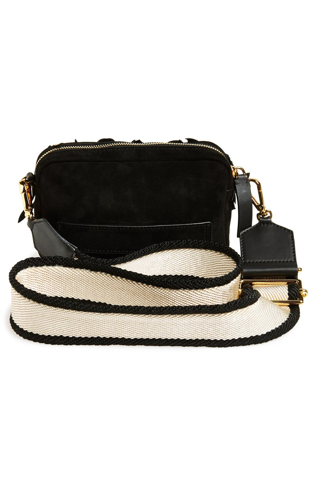 Alternate Image 4  - Marni Floral Suede & Leather Fanny Pack