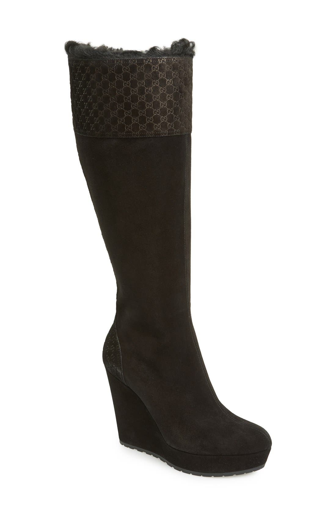 Alternate Image 1 Selected - Gucci 'Courtney' Boot