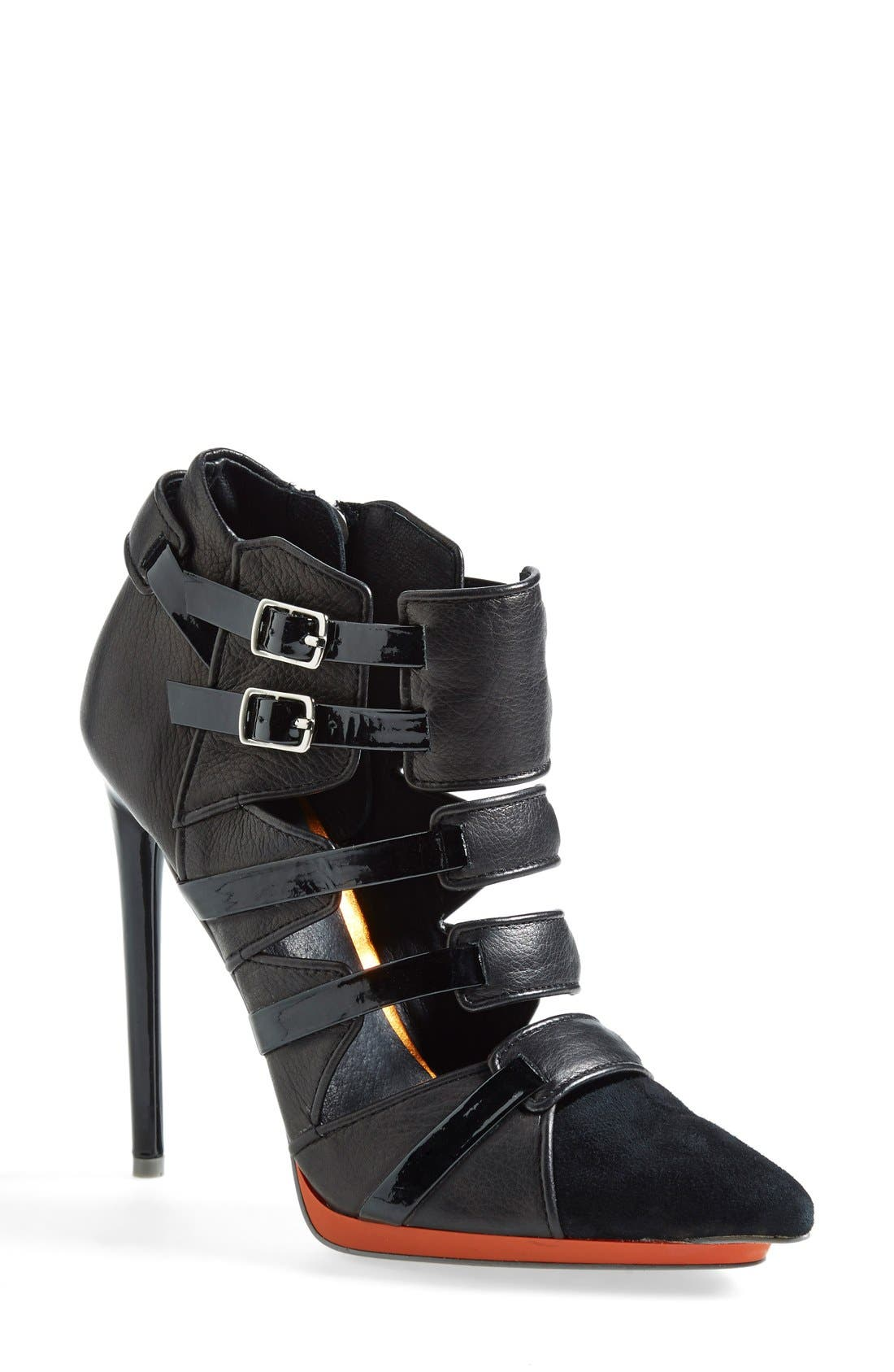 Alternate Image 1 Selected - L.A.M.B. 'Kaine' Cage Bootie (Women)
