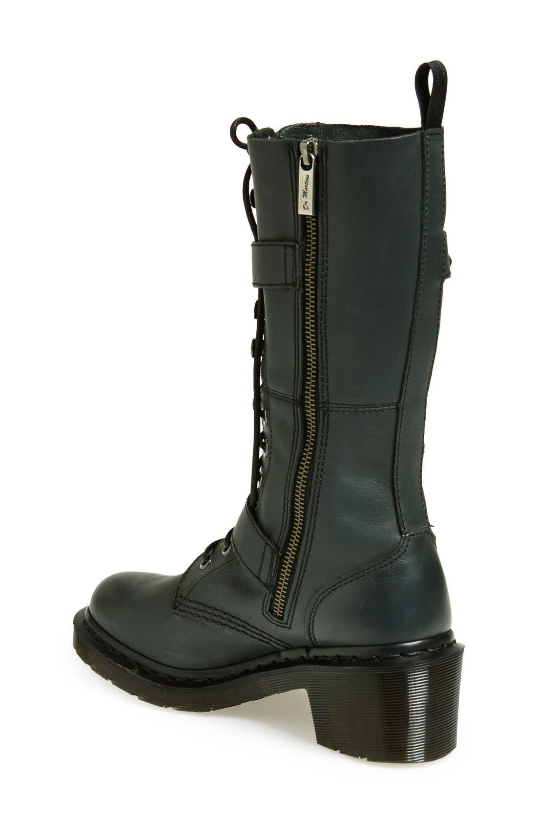 Alternate Image 2  - Dr. Martens 'Josefa' Military Boot (Women)