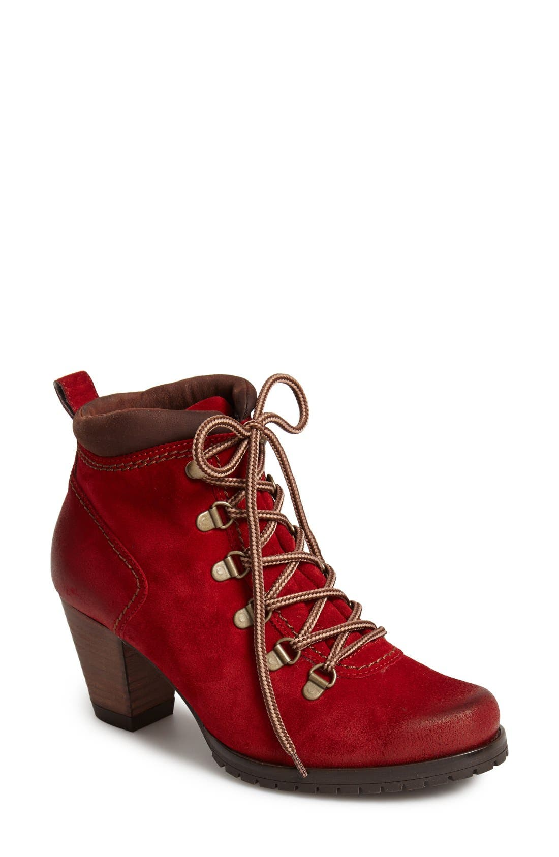 Alternate Image 1 Selected - Paul Green 'Boise' Leather Bootie (Women)