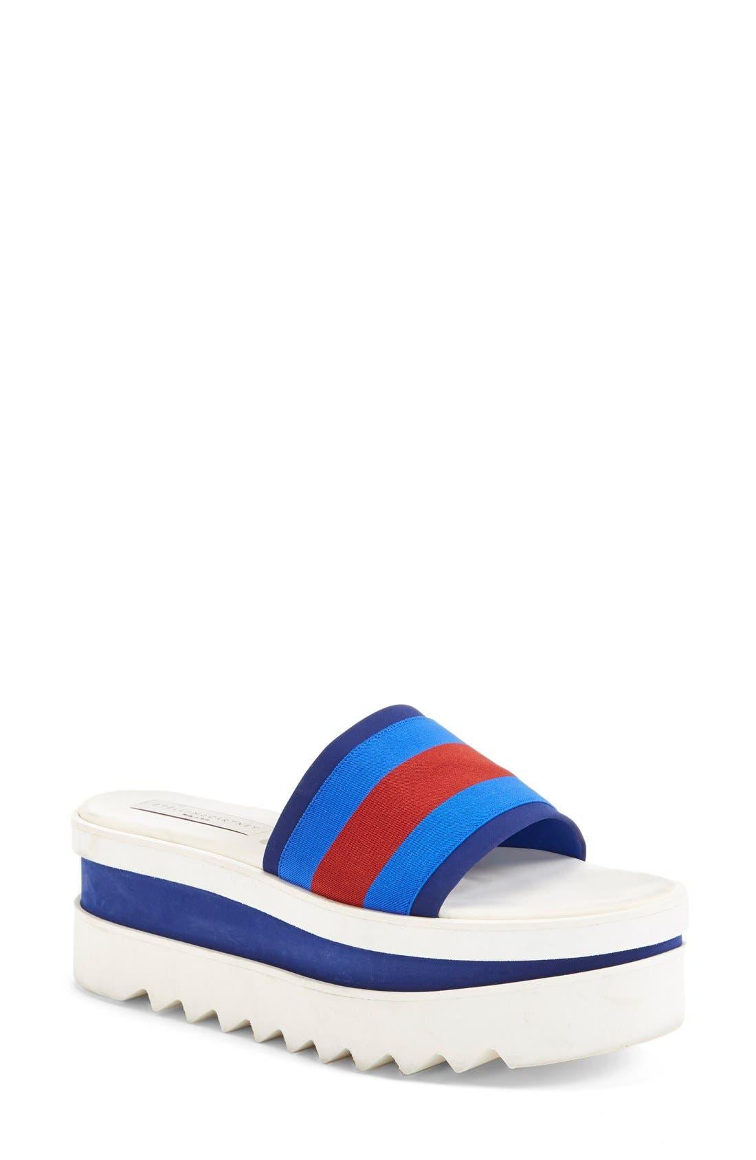 Alternate Image 1 Selected - Stella McCartney Platform Slide Sandal (Women)