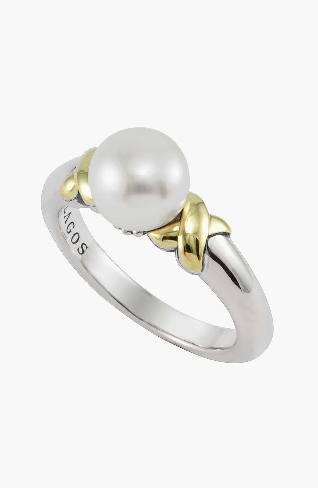 Alternate Image 2  - Lagos 'Luna' Pearl Ring