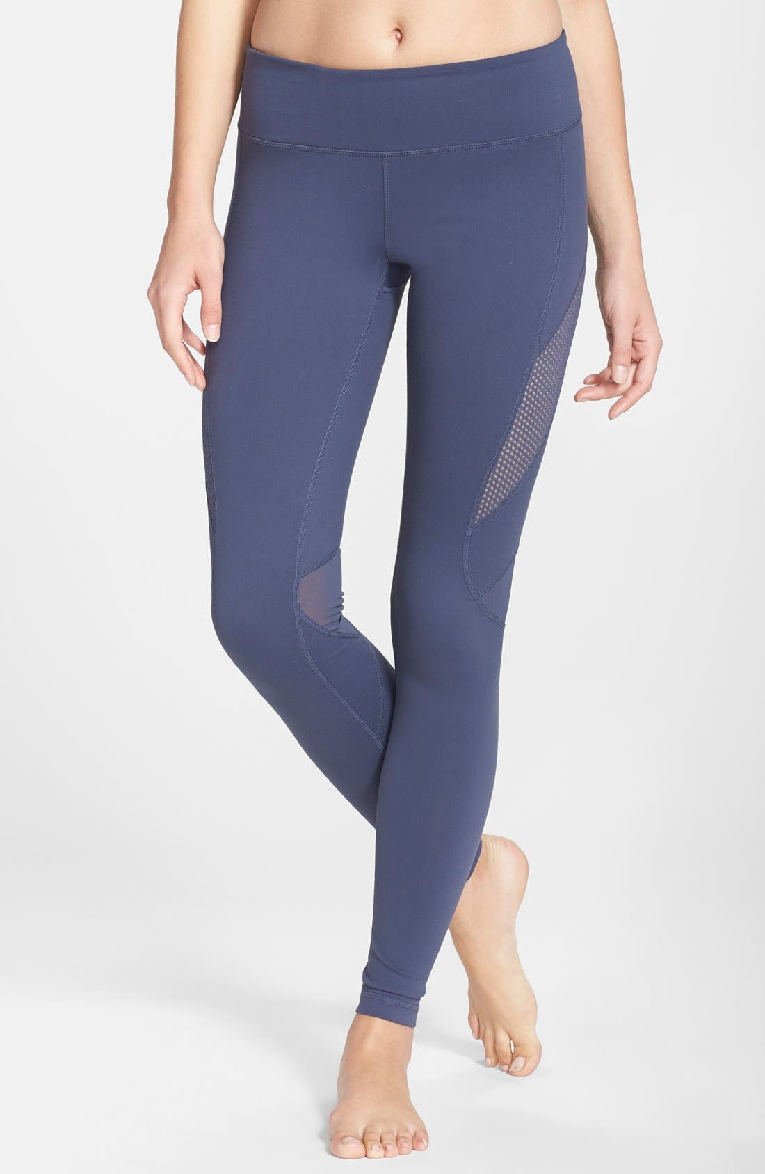 Alternate Image 1 Selected - Zella 'Optic Mesh' Leggings