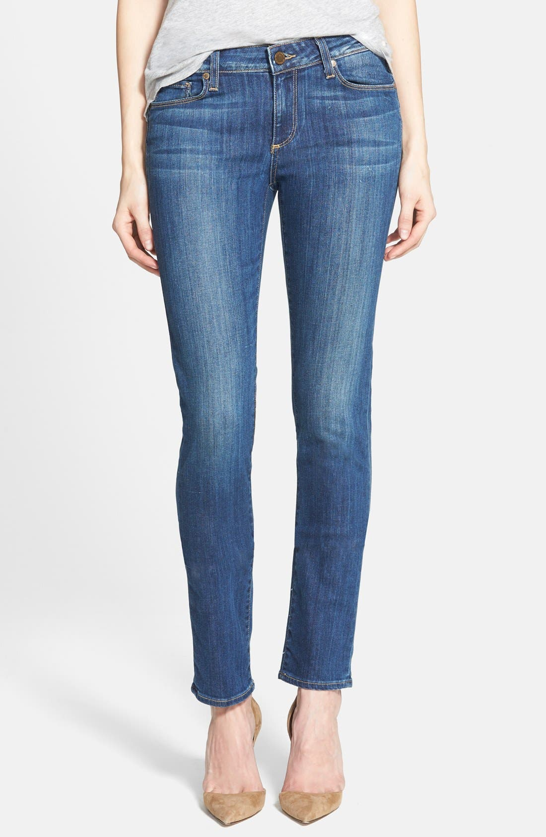 Main Image - Paige Denim 'Skyline' Skinny Jeans (Orson Blue)