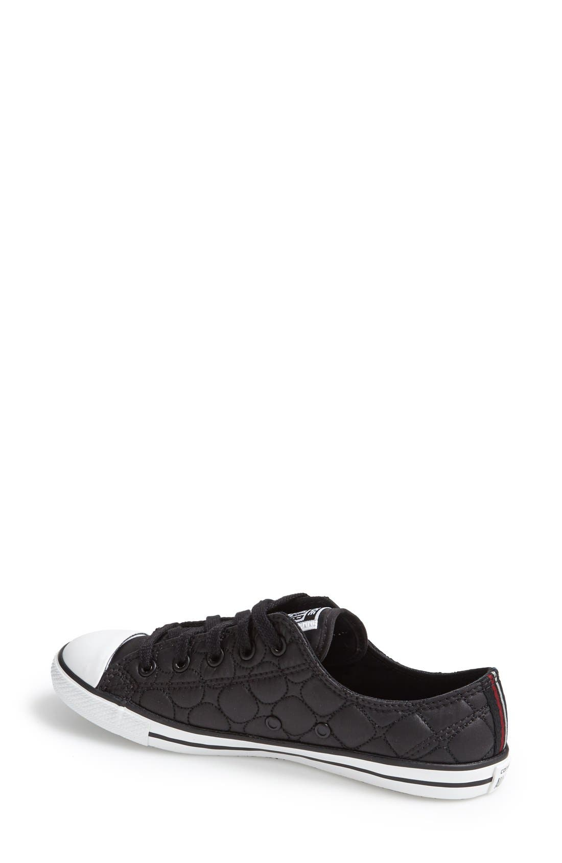Alternate Image 2  - Converse Chuck Taylor® All Star® 'Dainty' Quilted Sneaker (Women)