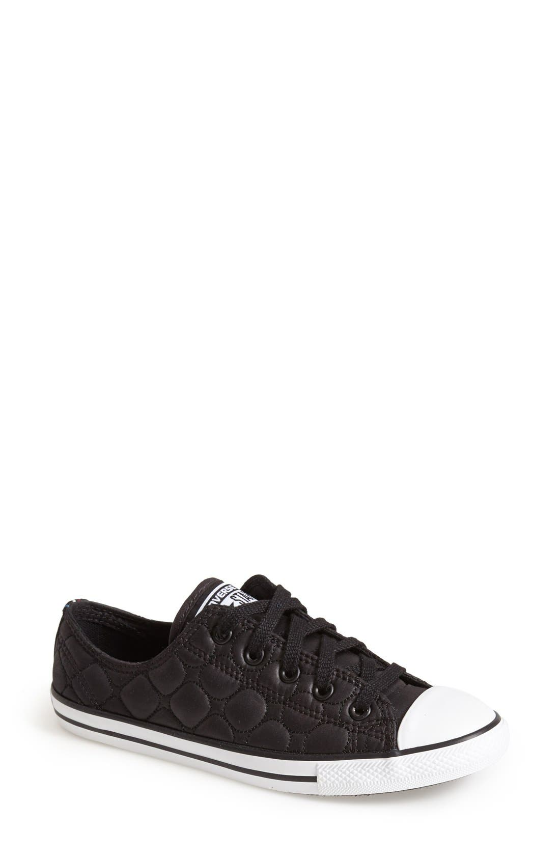 Alternate Image 1 Selected - Converse Chuck Taylor® All Star® 'Dainty' Quilted Sneaker (Women)