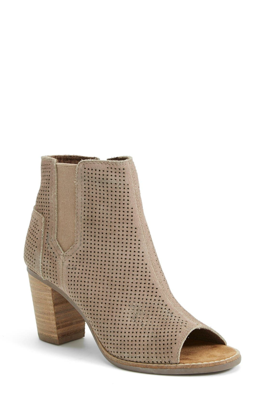 Alternate Image 1 Selected - TOMS 'Majorca' Suede Bootie (Women)