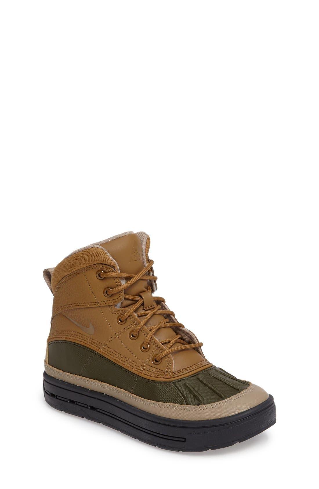 Alternate Image 1 Selected - Nike 'Woodside 2 High' Boot (Baby, Walker, Toddler, Little Kid & Big Kid)