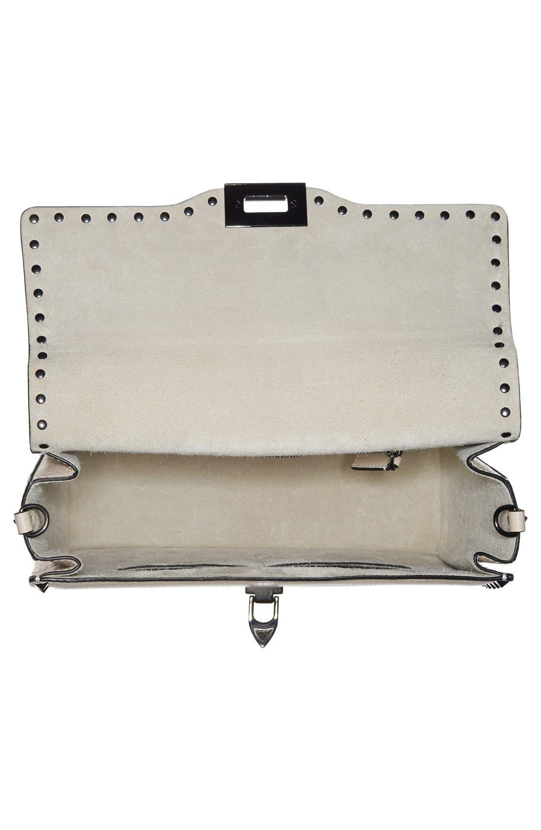 Alternate Image 4  - Valentino Rockstud Framed Leather Handbag