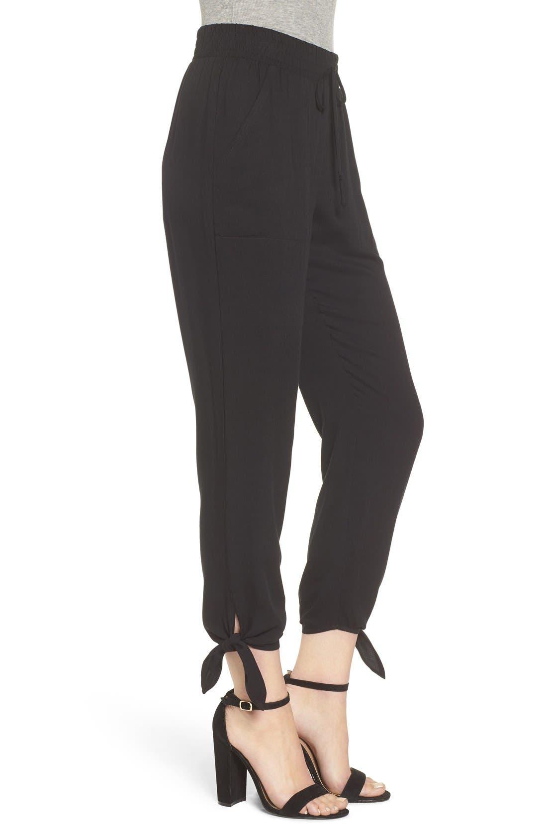 Alternate Image 3  - Socialite Ankle Tie Pants