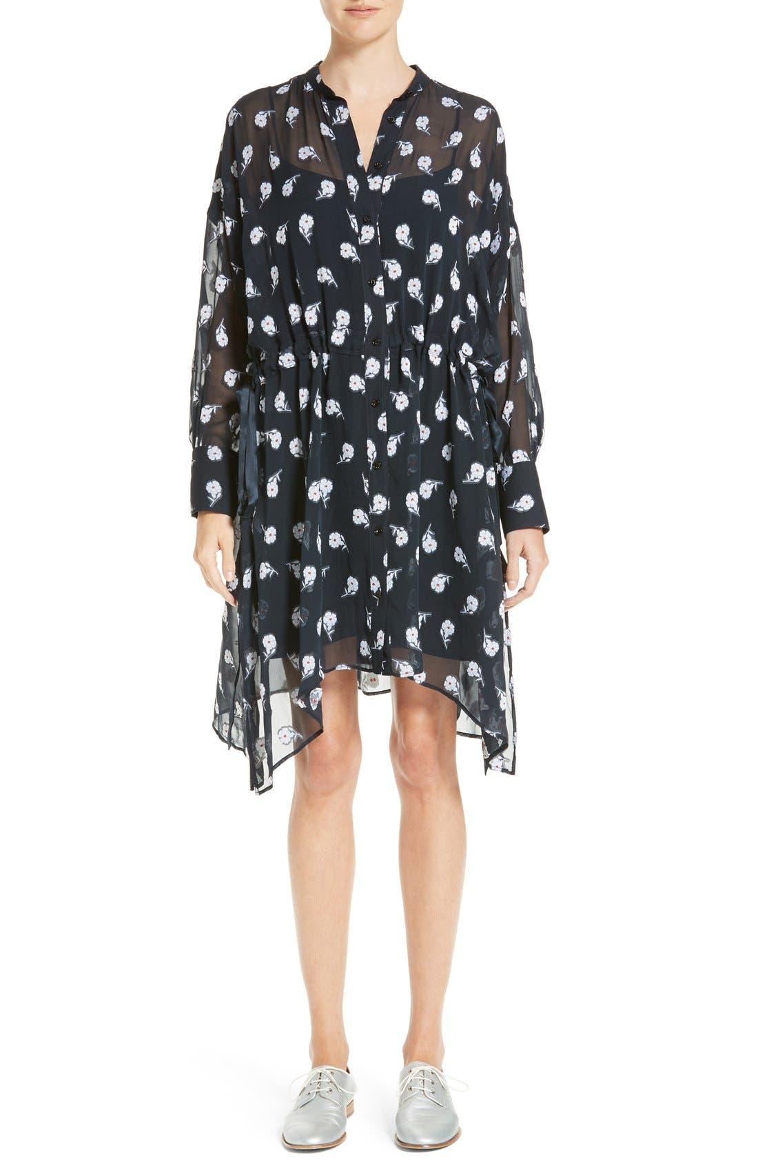 RAG & BONE Elodie Floral Print Dress