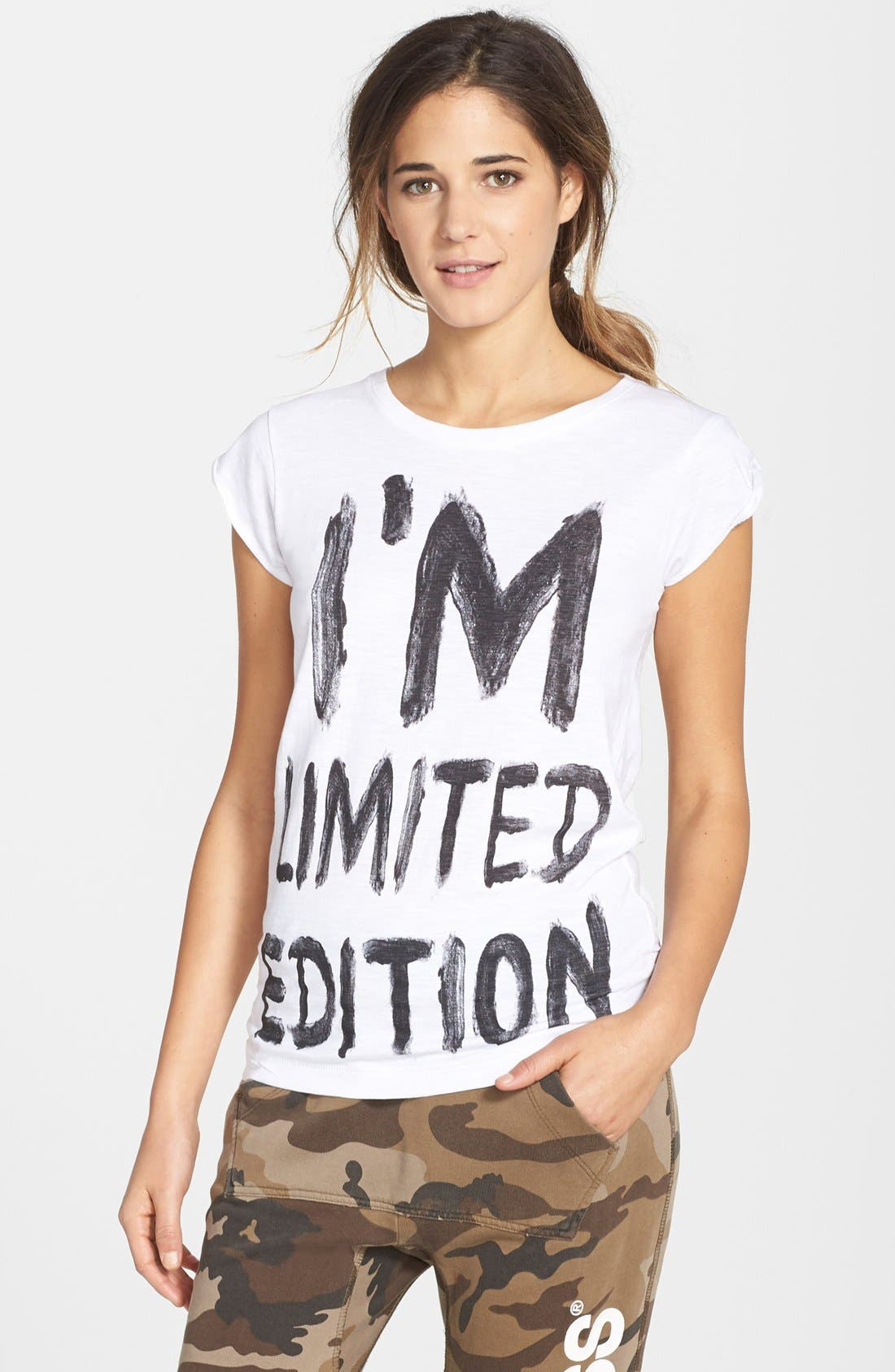 Alternate Image 1 Selected - Happiness® 'I'm Limited Edition' Graphic Tee