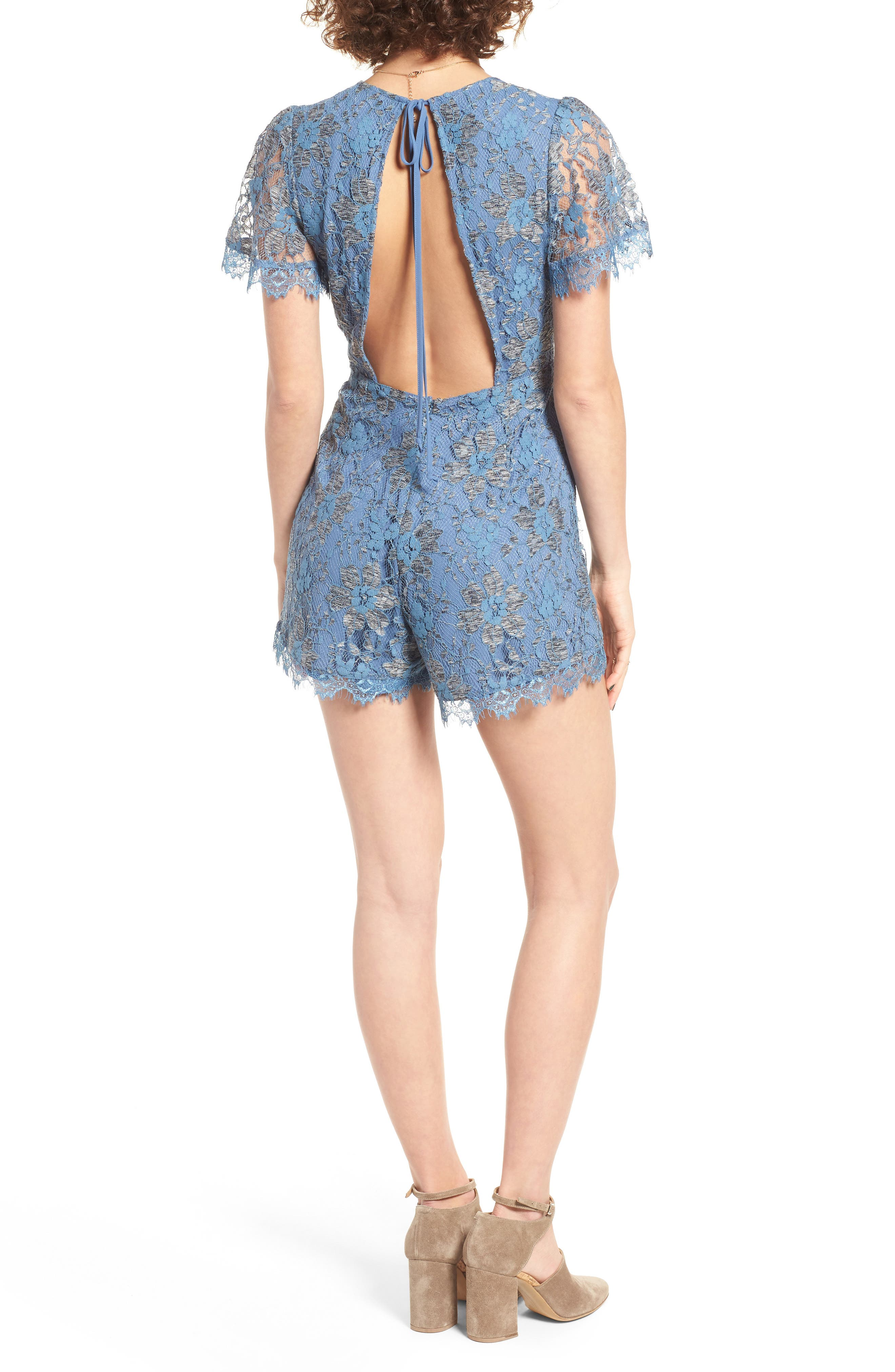 Alternate Image 3  - ASTR the Label Ryan Lace Romper